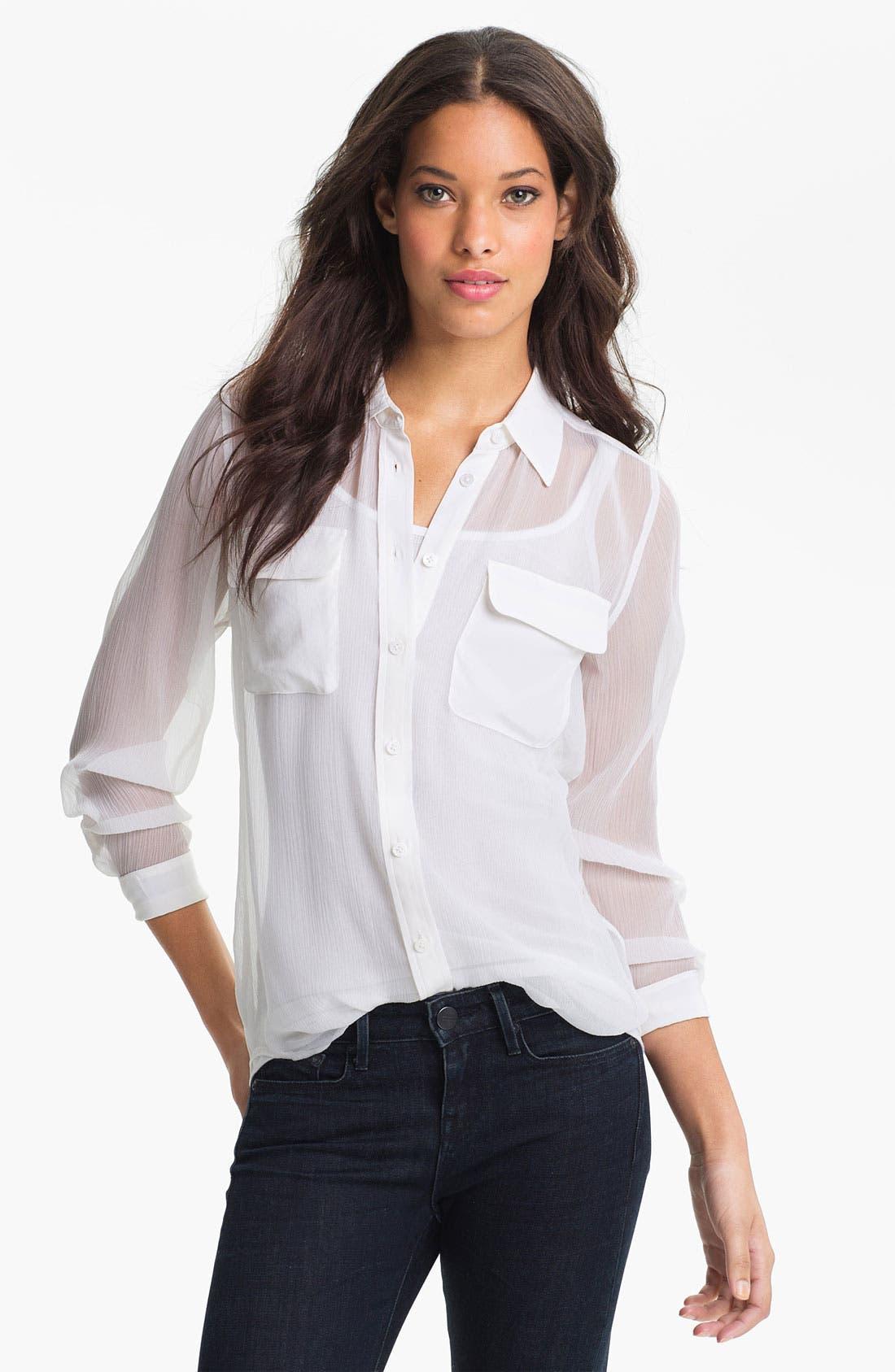 Main Image - Equipment 'Signature' Silk Shirt