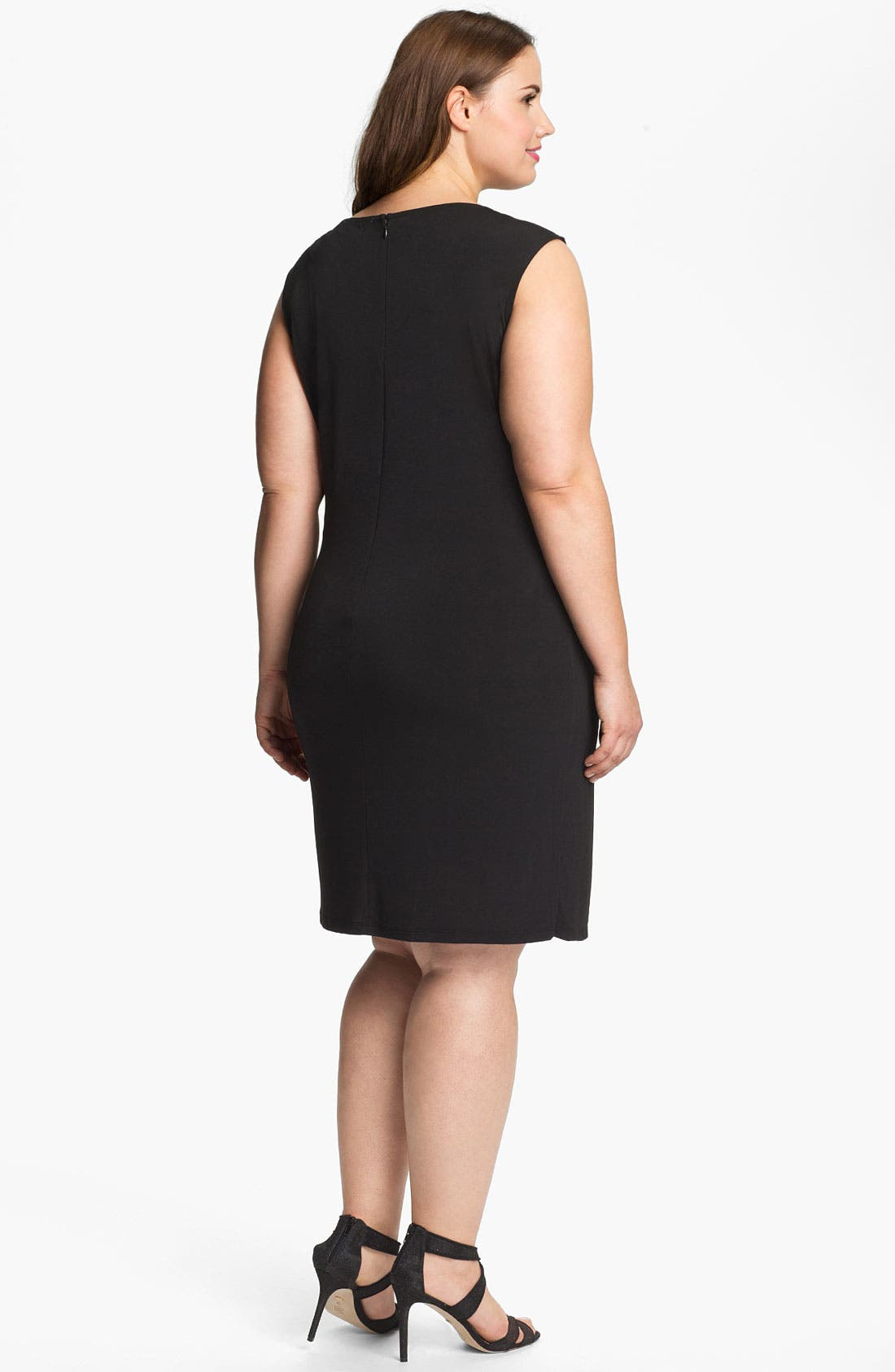 Alternate Image 2  - MICHAEL Michael Kors Belted Sheath Dress