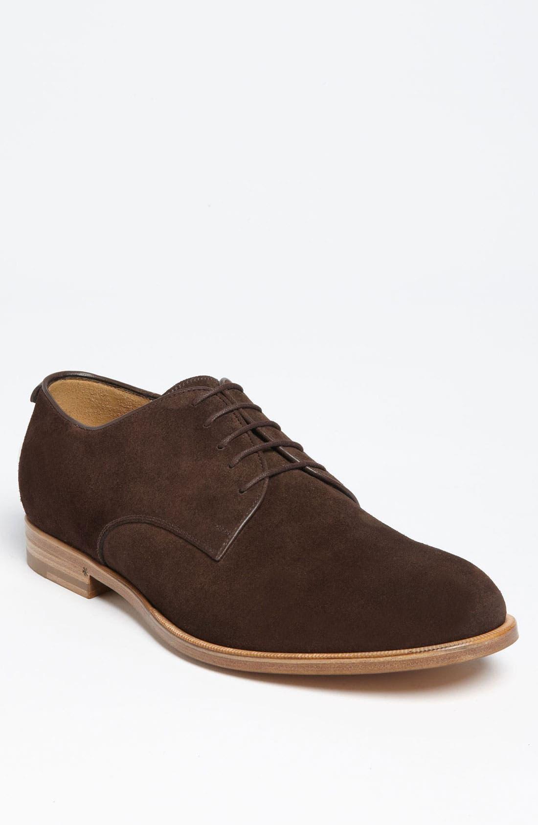 Main Image - Gucci 'Clerck' Buck Shoe