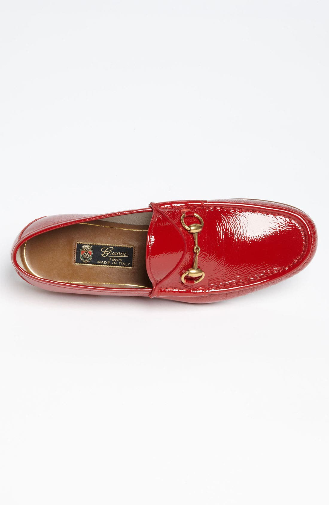 Alternate Image 3  - Gucci 'Roos' Patent Bit Loafer