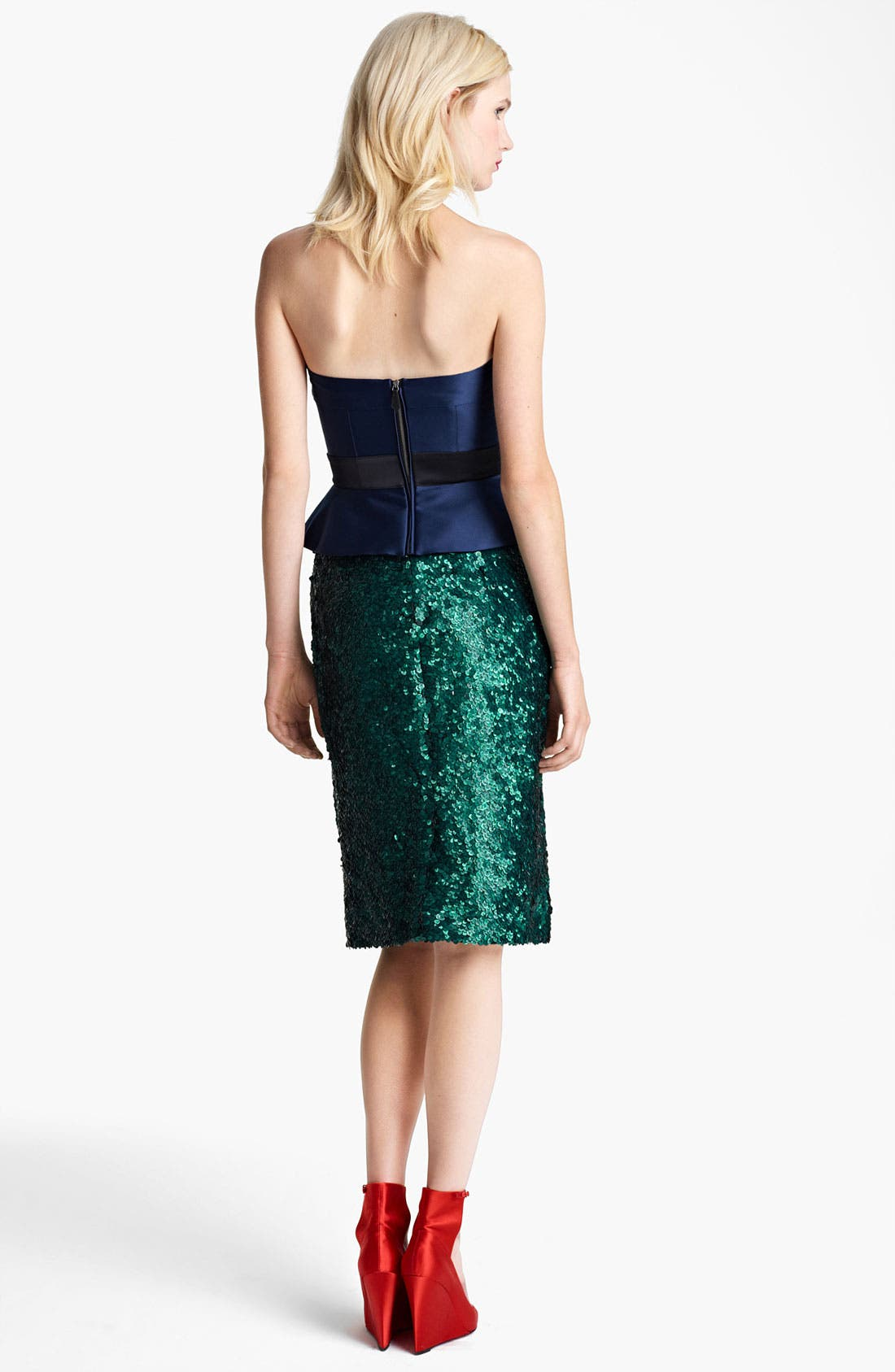Alternate Image 3  - Burberry Prorsum Sequin Pencil Skirt