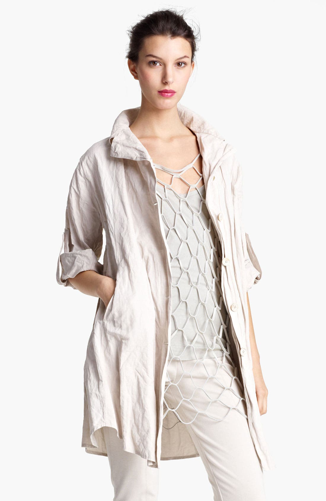 Alternate Image 2  - Donna Karan Collection Parachute Cotton Tunic