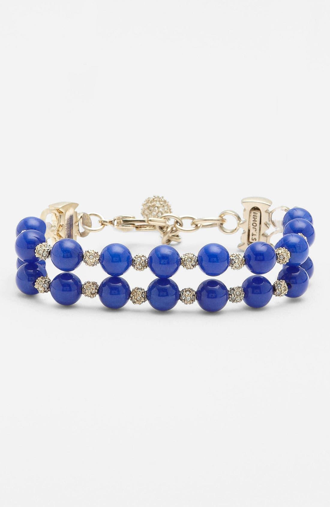 Main Image - St. John Collection Dyed Quartz Double Strand Bracelet