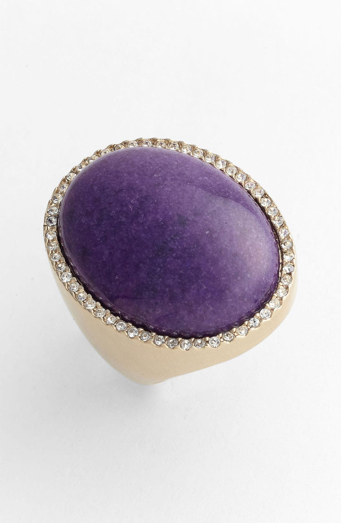 Alternate Image 1 Selected - St. John Collection Dyed Quartz Cabochon Ring