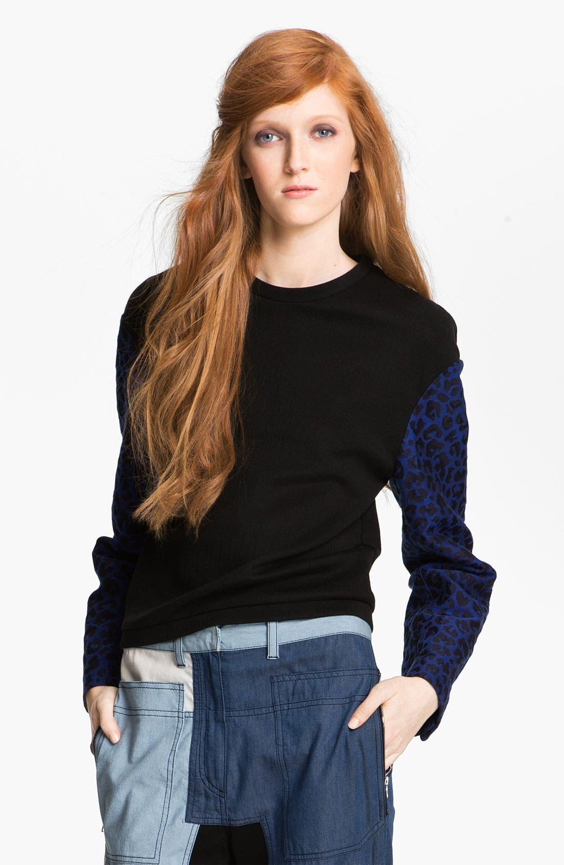 Alternate Image 5  - 3.1 Phillip Lim Print Sleeve Sweatshirt