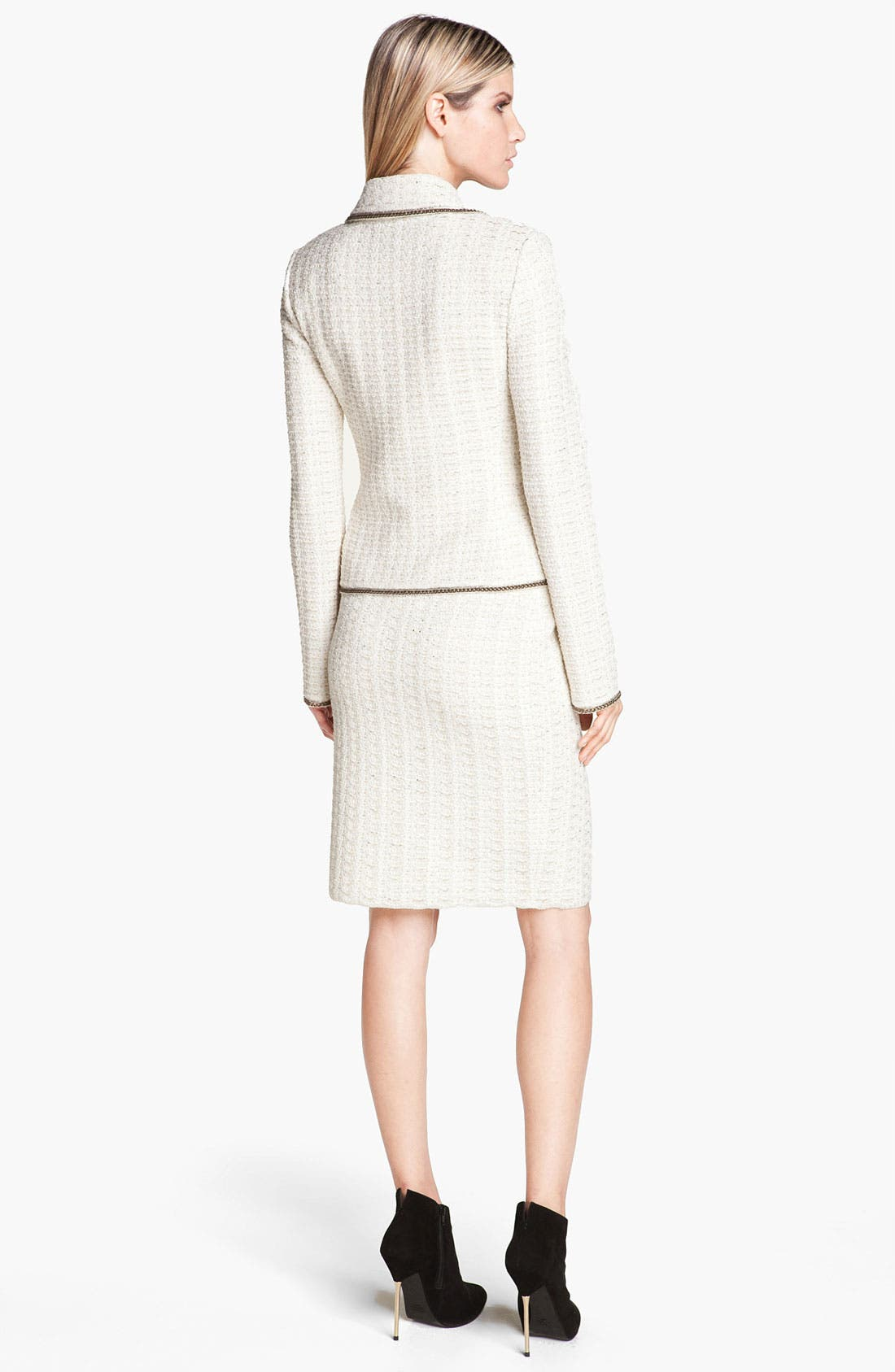 Alternate Image 3  - St. John Collection Belgravia Tweed Jacket