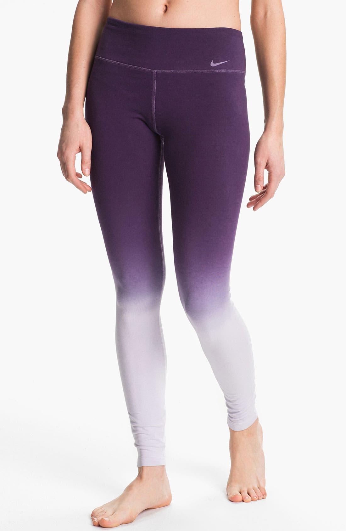 Alternate Image 1 Selected - Nike 'Legend 2.0' Dip Dye Leggings