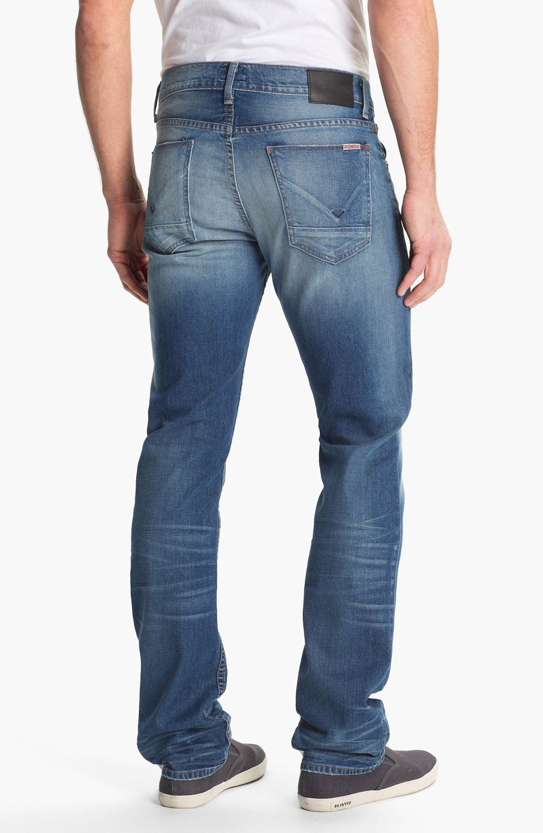 Alternate Image 2  - Hudson Jeans 'Byron' Straight Leg Jeans (Seether)