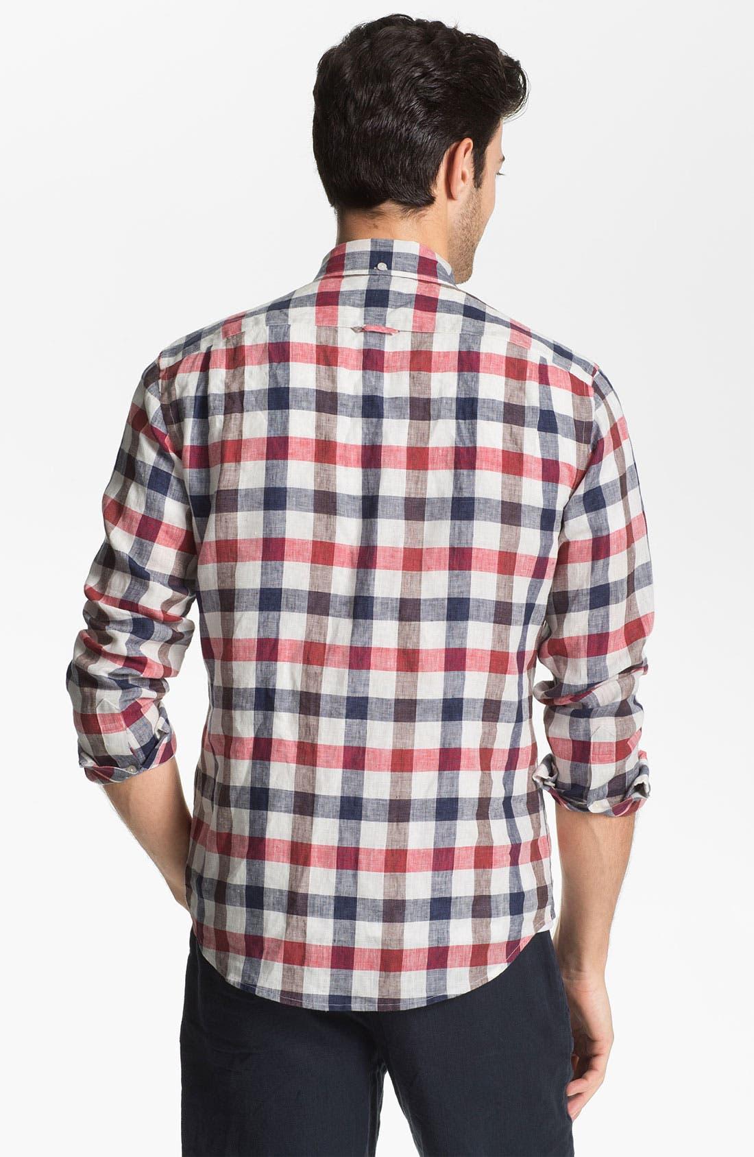 Alternate Image 2  - Vince Regular Fit Linen Sport Shirt