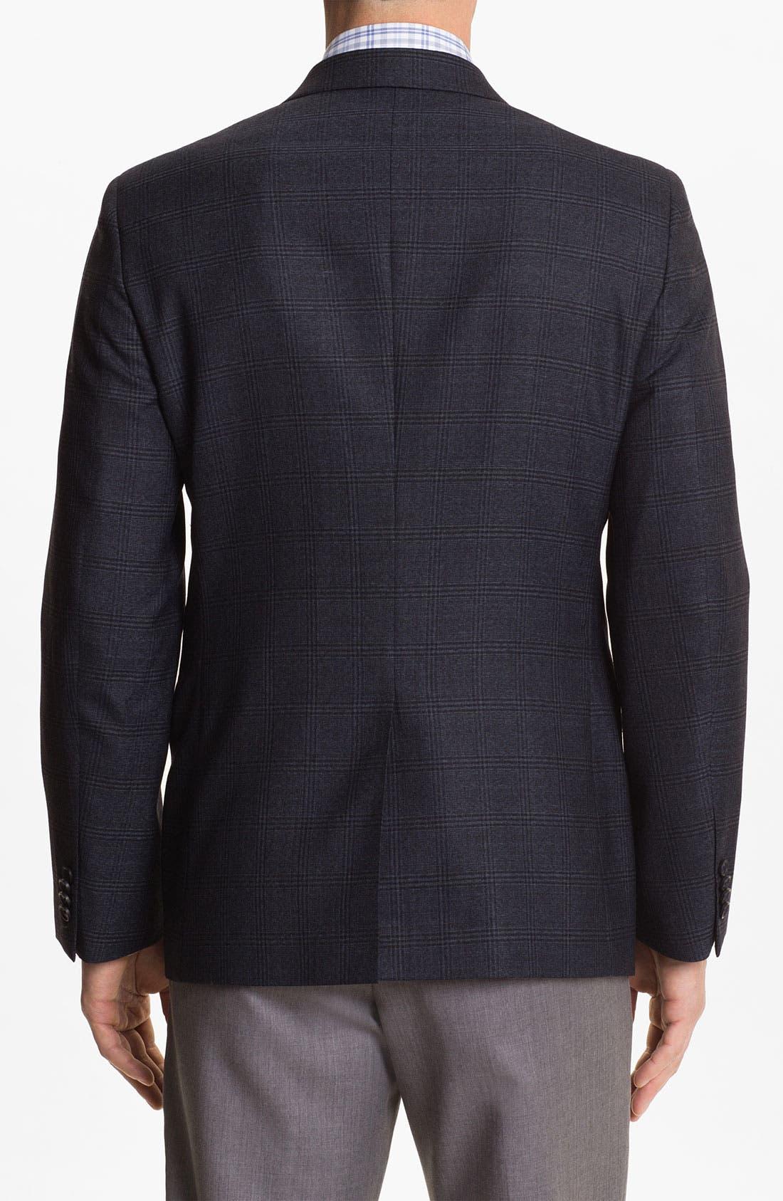 Alternate Image 2  - John W. Nordstrom® Plaid Wool Sportcoat