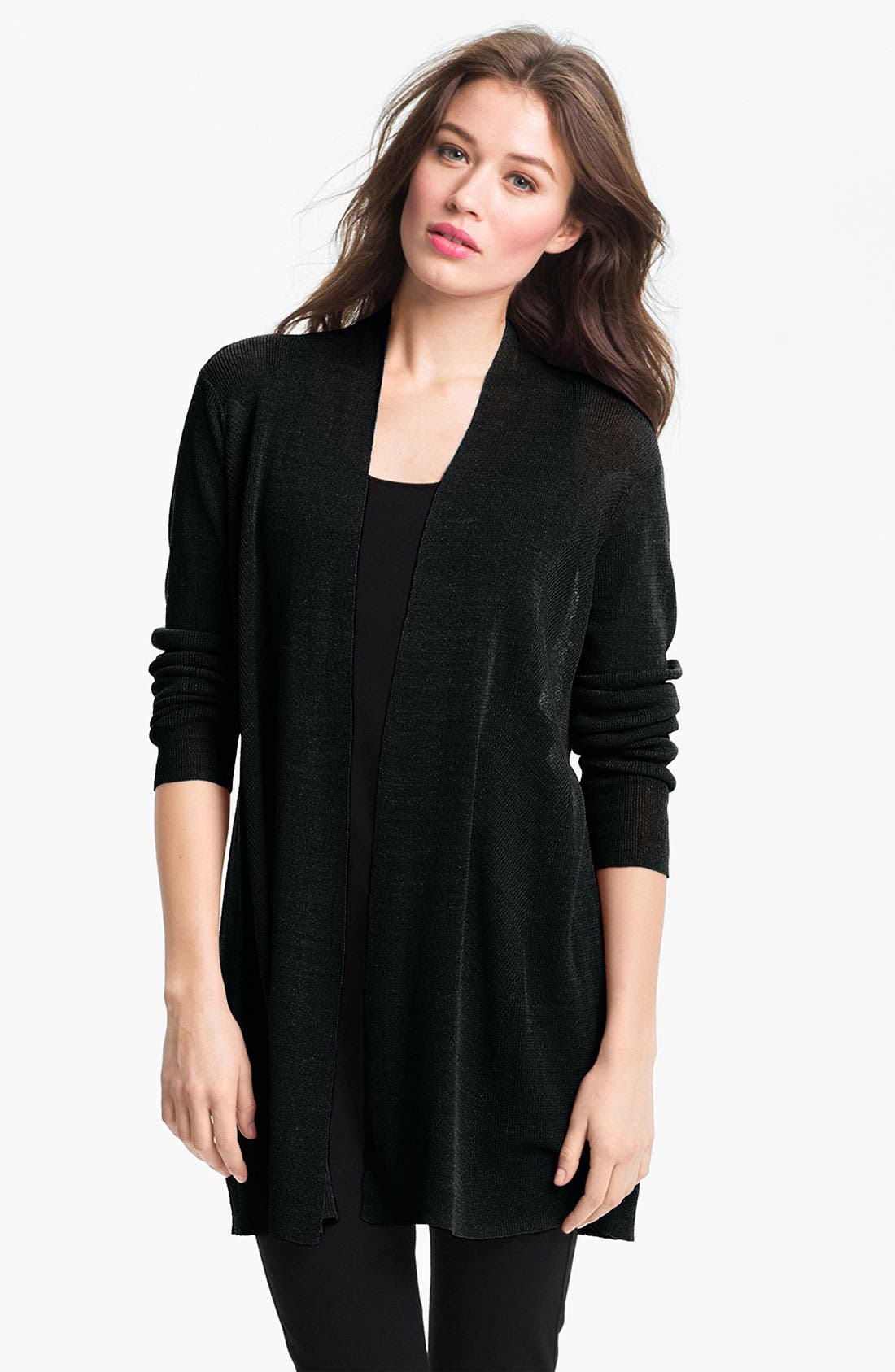 Alternate Image 1 Selected - Eileen Fisher Long Cardigan