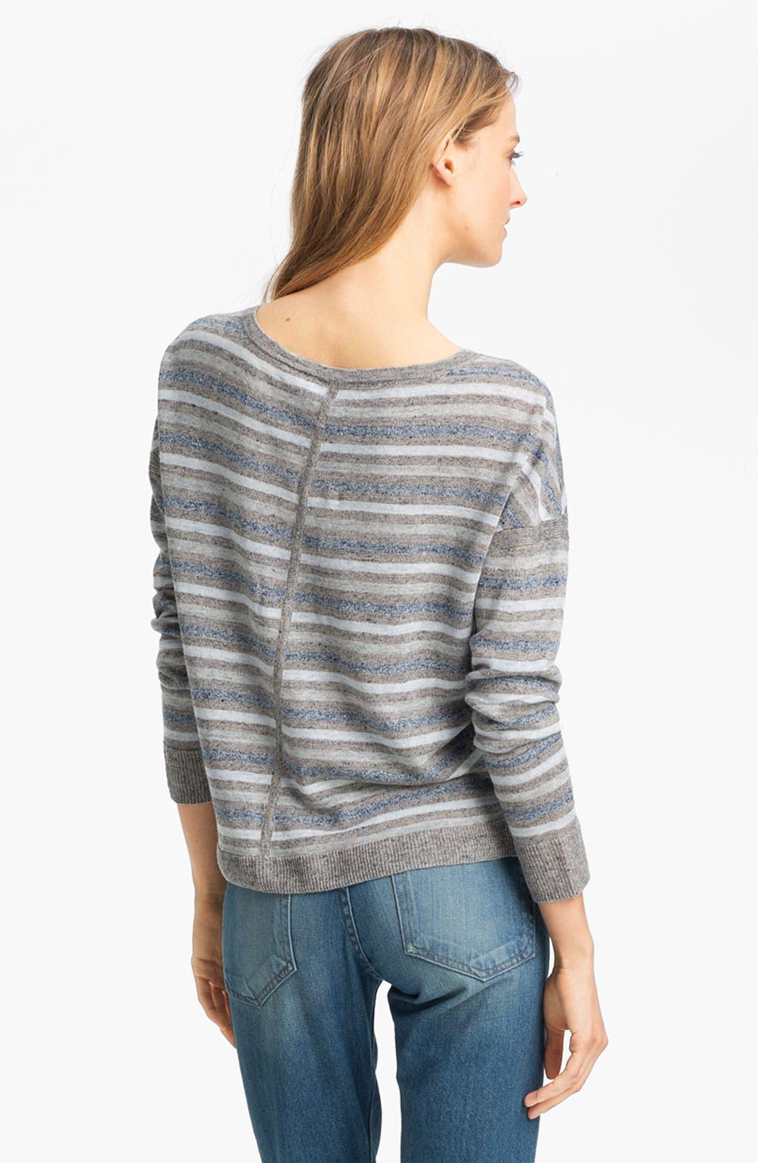 Alternate Image 3  - rag & bone 'Sierra' Linen Pullover