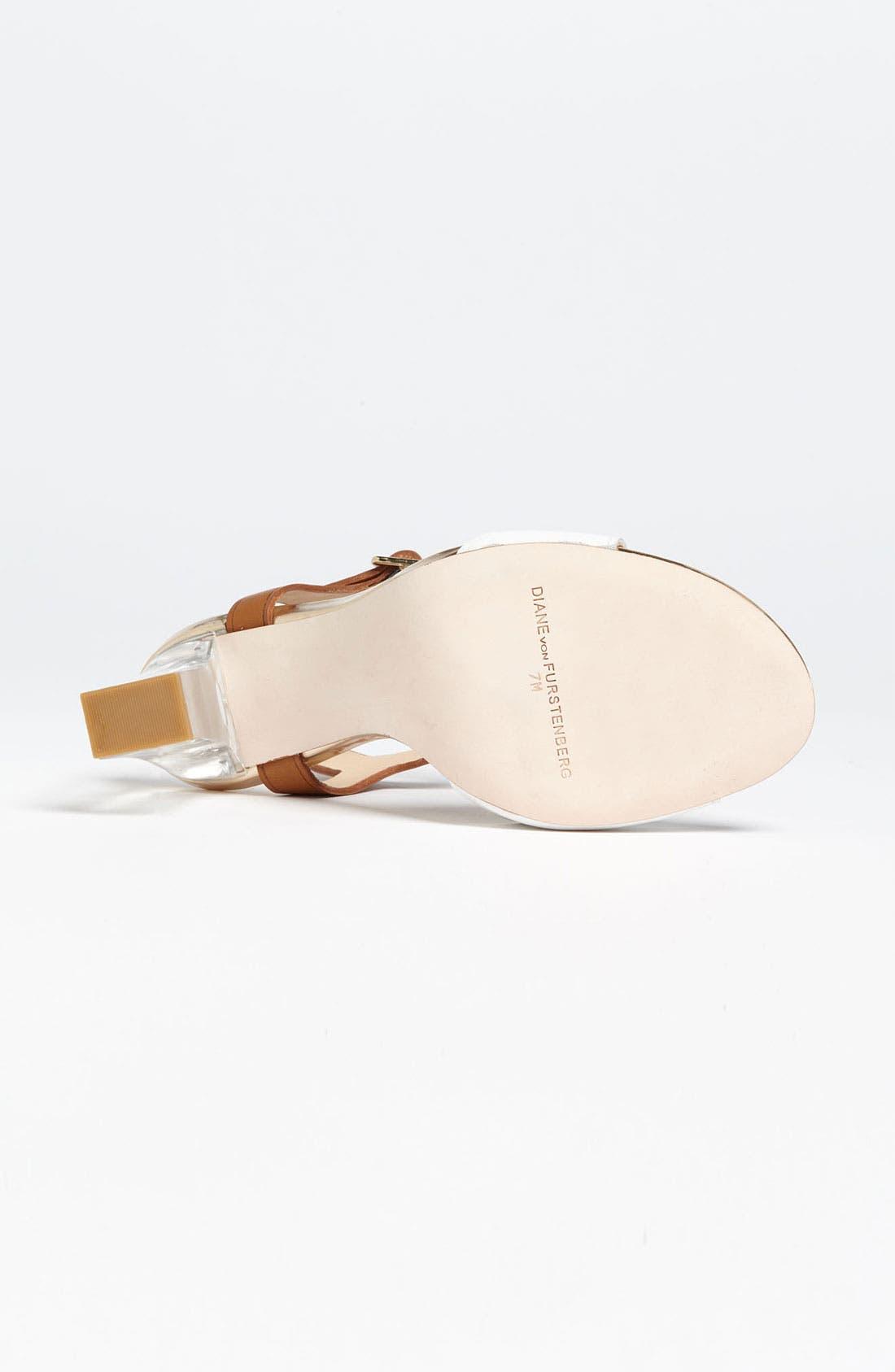 Alternate Image 4  - Diane von Furstenberg 'Patmos' Sandal (Online Only)