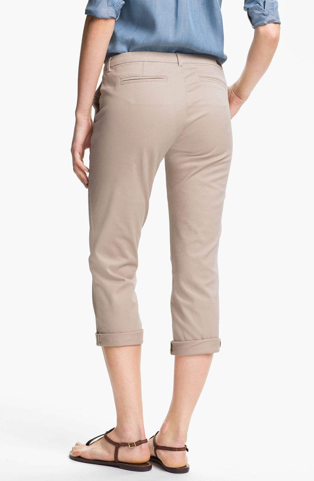 Alternate Image 2  - KUT from the Kloth 'Gwen' Twill Pants