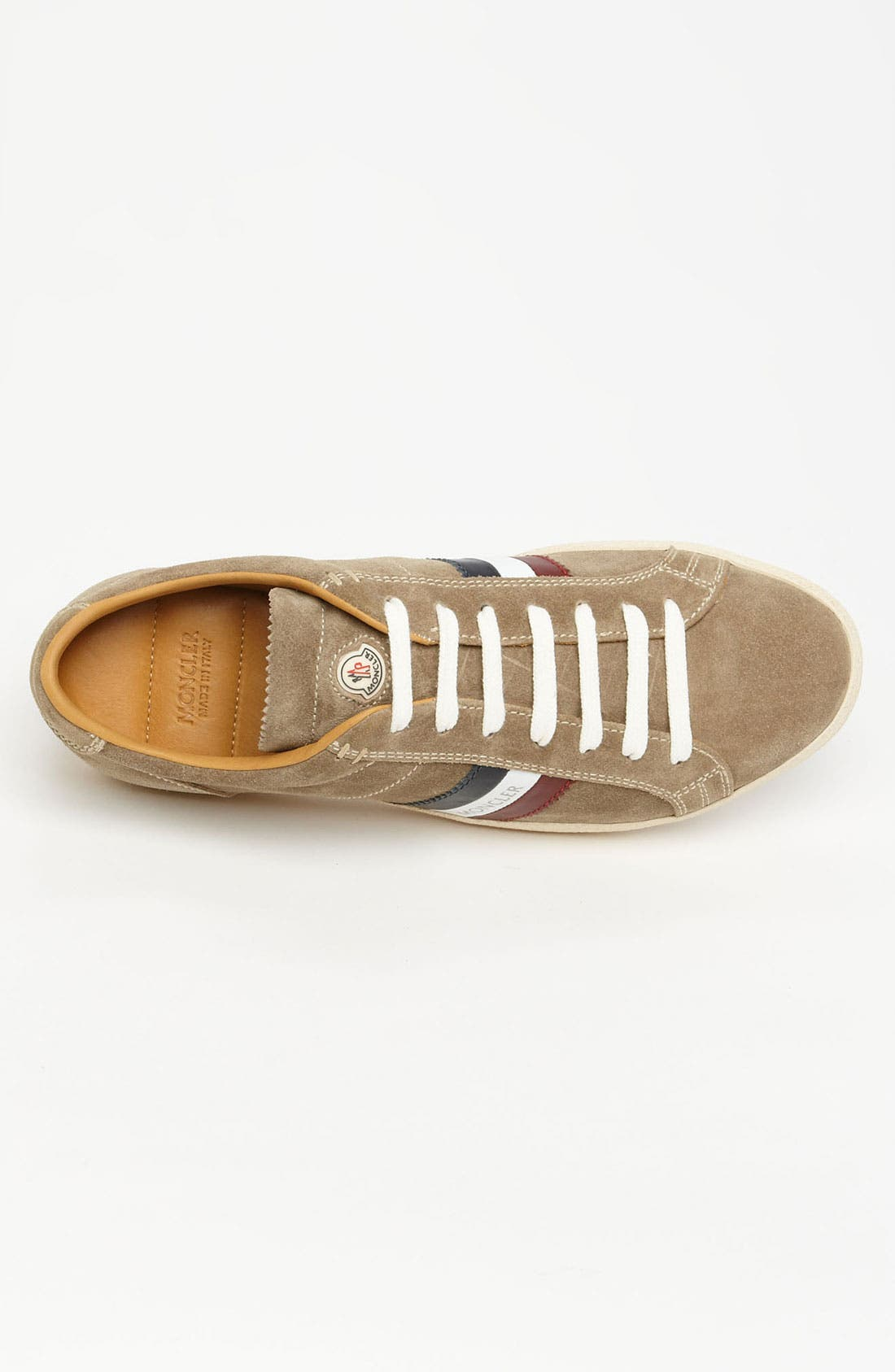 Alternate Image 3  - Moncler 'Monaco' Suede Sneaker