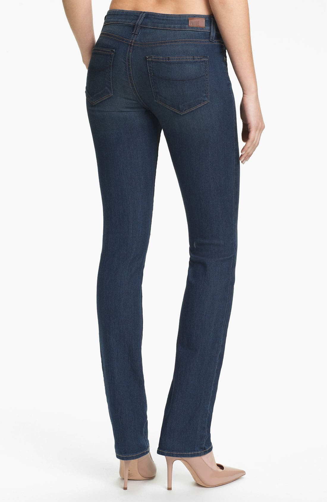 Alternate Image 2  - Paige Denim 'Skyline' Straight Leg Stretch Denim Jeans (Finley)