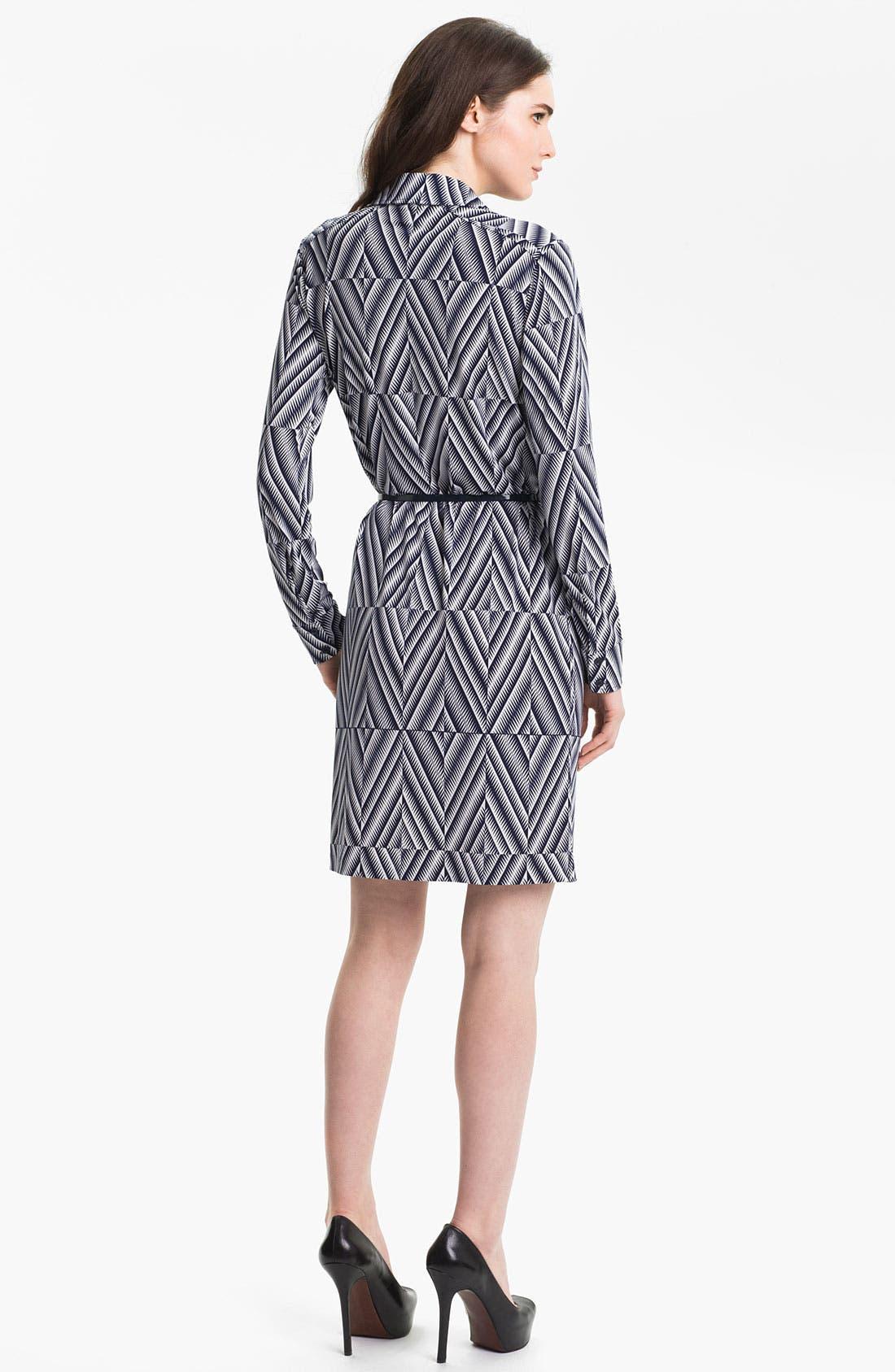 Alternate Image 2  - Anne Klein 'Leo - Diamond' Shirtdress