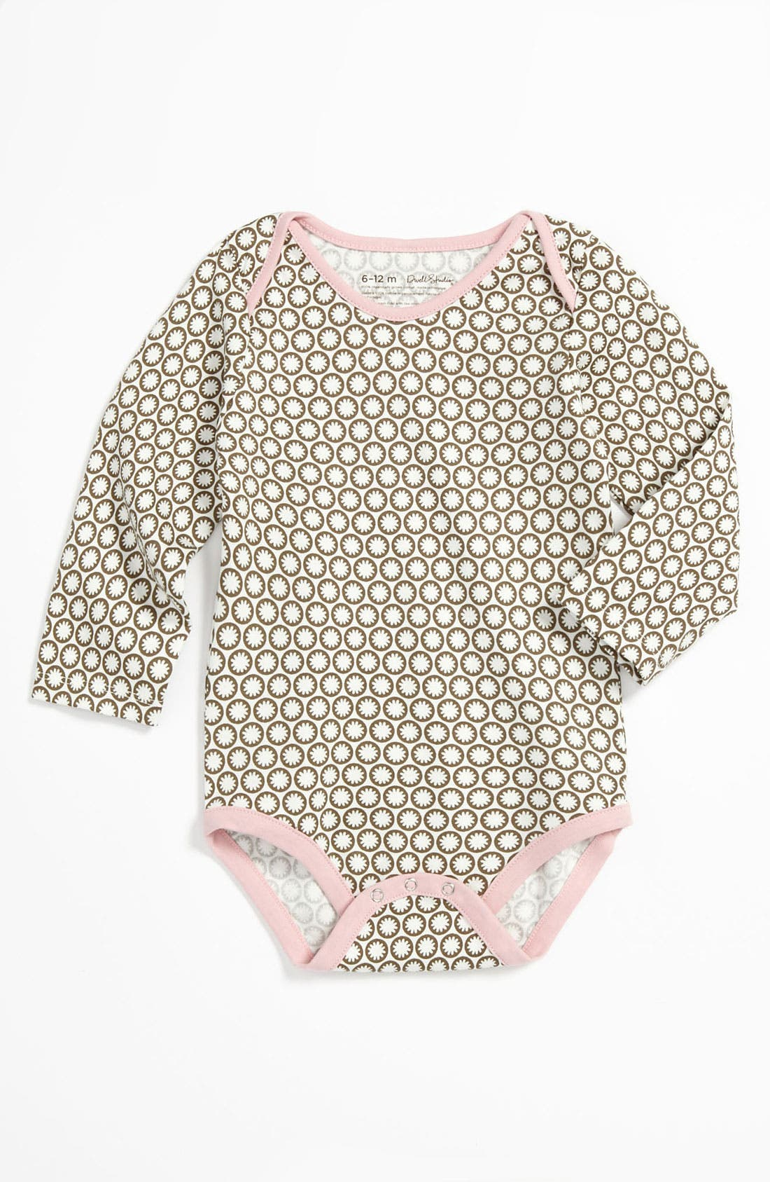 Alternate Image 1 Selected - DwellStudio Long Sleeve Bodysuit (Infant)