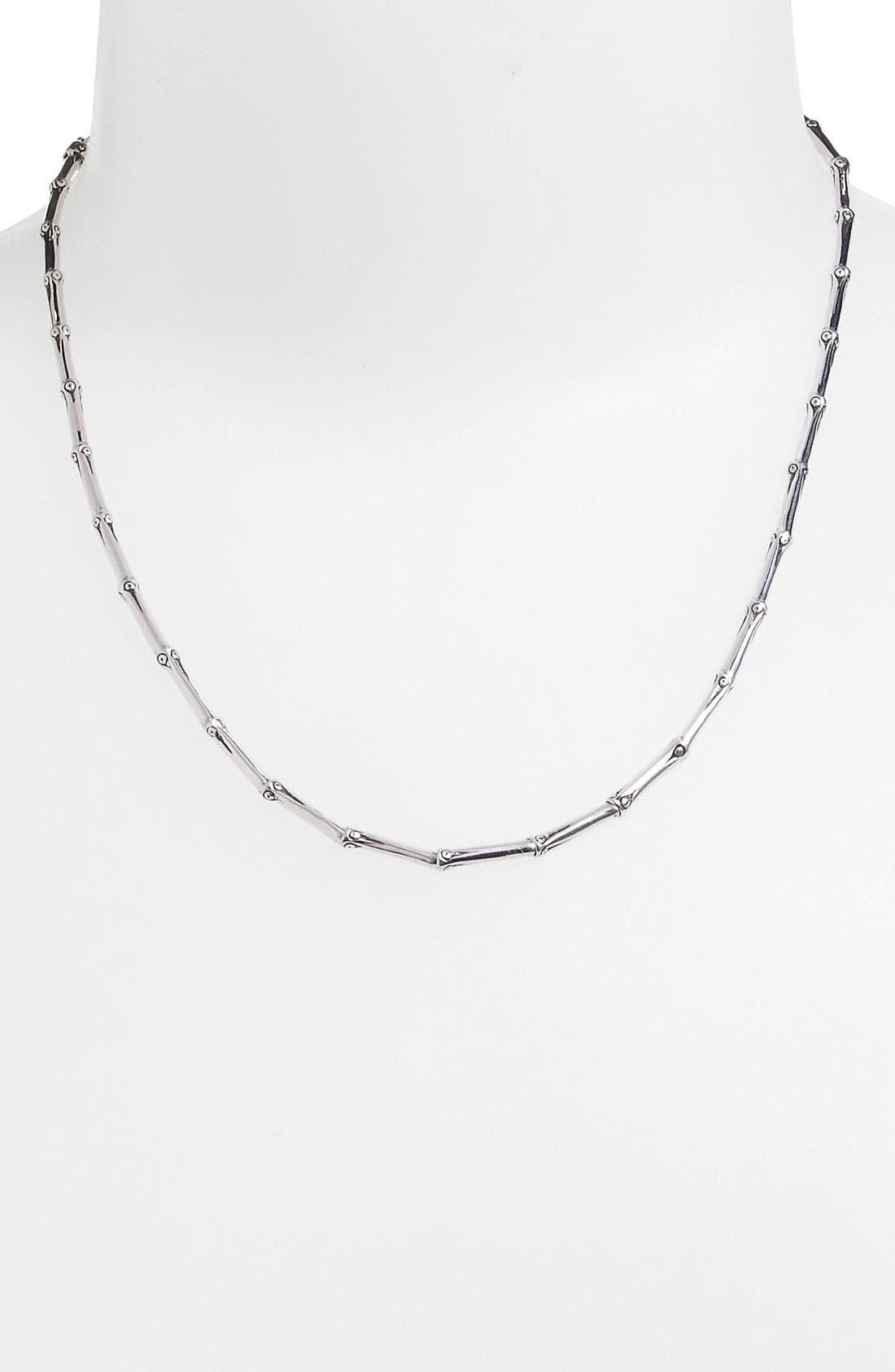 Alternate Image 1 Selected - John Hardy 'Bamboo' Single Row Necklace