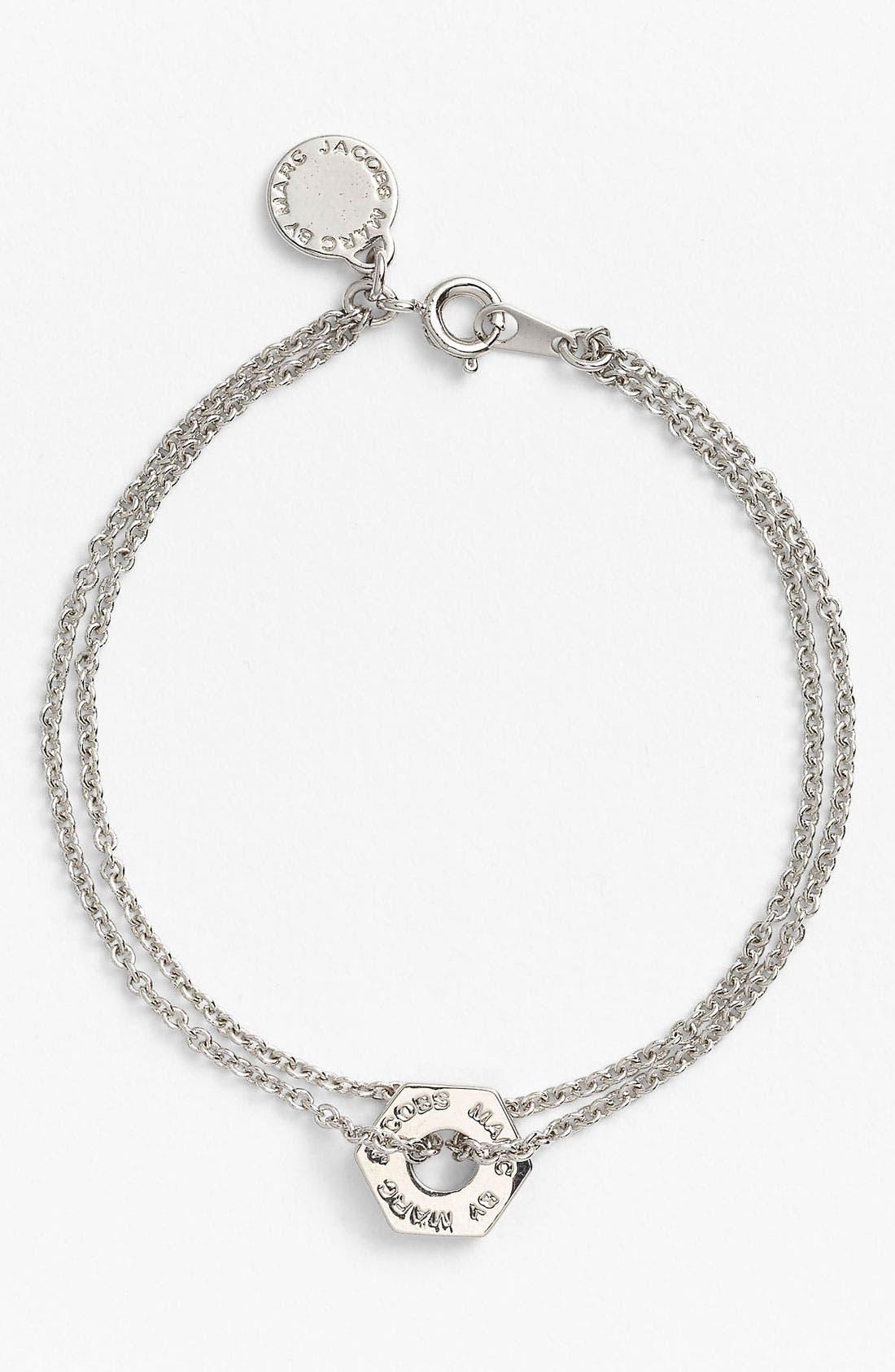 Alternate Image 1 Selected - MARC BY MARC JACOBS 'Bolts' Line Bracelet