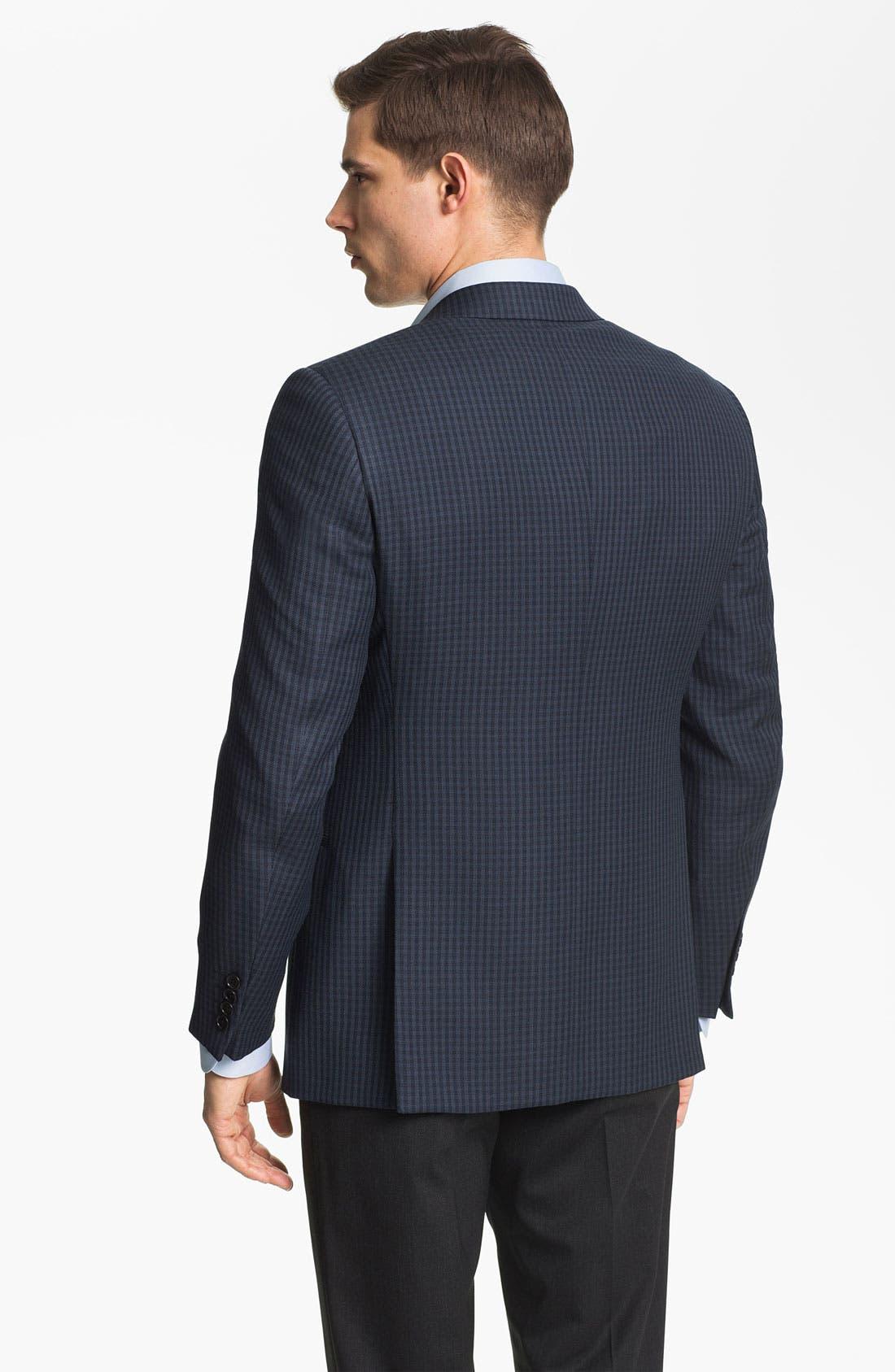 Alternate Image 2  - Armani Collezioni 'Giorgio' Trim Fit Wool Sportcoat
