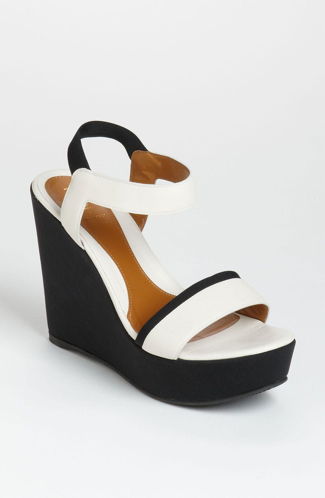 Main Image - Fendi Ankle Strap Wedge Sandal