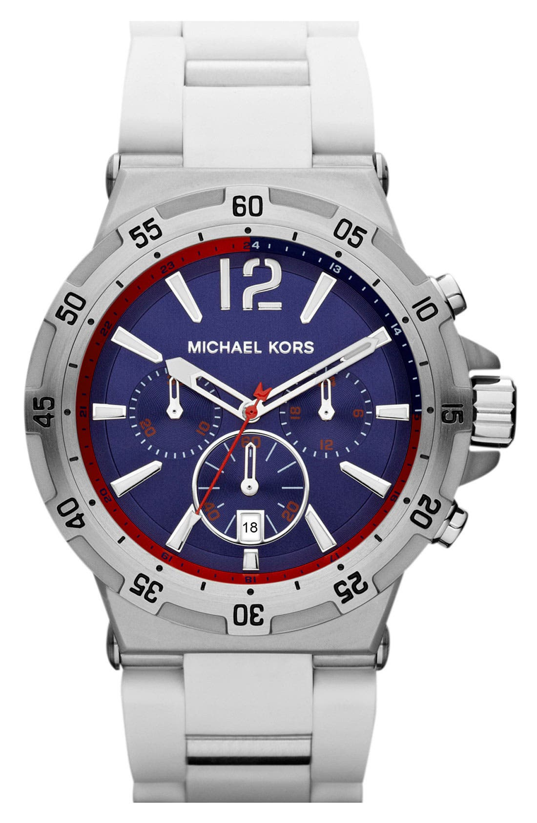 Alternate Image 1 Selected - Michael Kors 'Melbourne' Chronograph Bracelet Watch