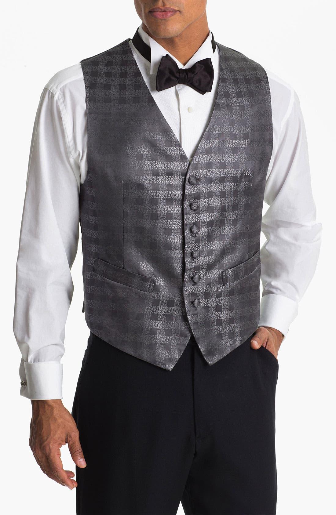 Alternate Image 1 Selected - David Donahue Silk Vest