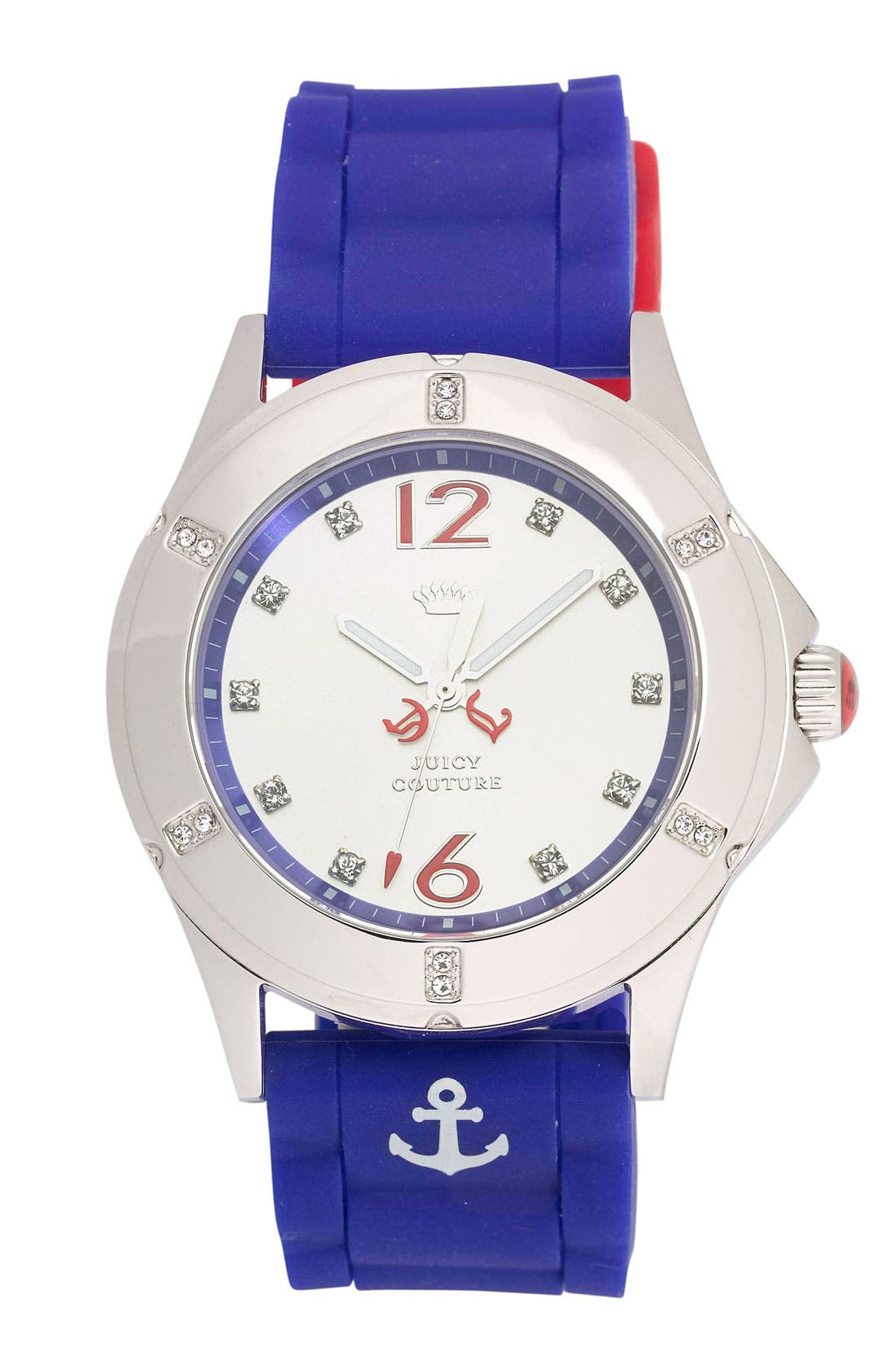 Alternate Image 1 Selected - Juicy Couture 'Rich Girl' Anchor Detail Watch