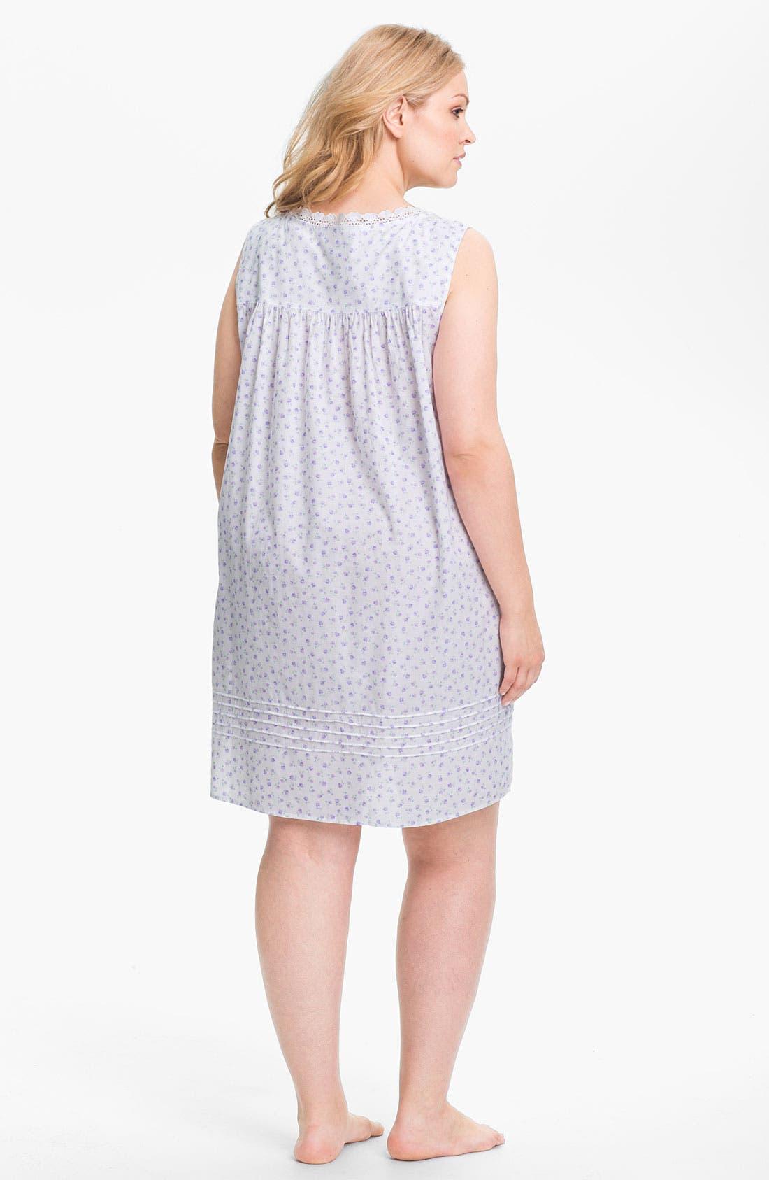 Alternate Image 2  - Eileen West 'Beautiful Heart' Short Nightgown (Plus)