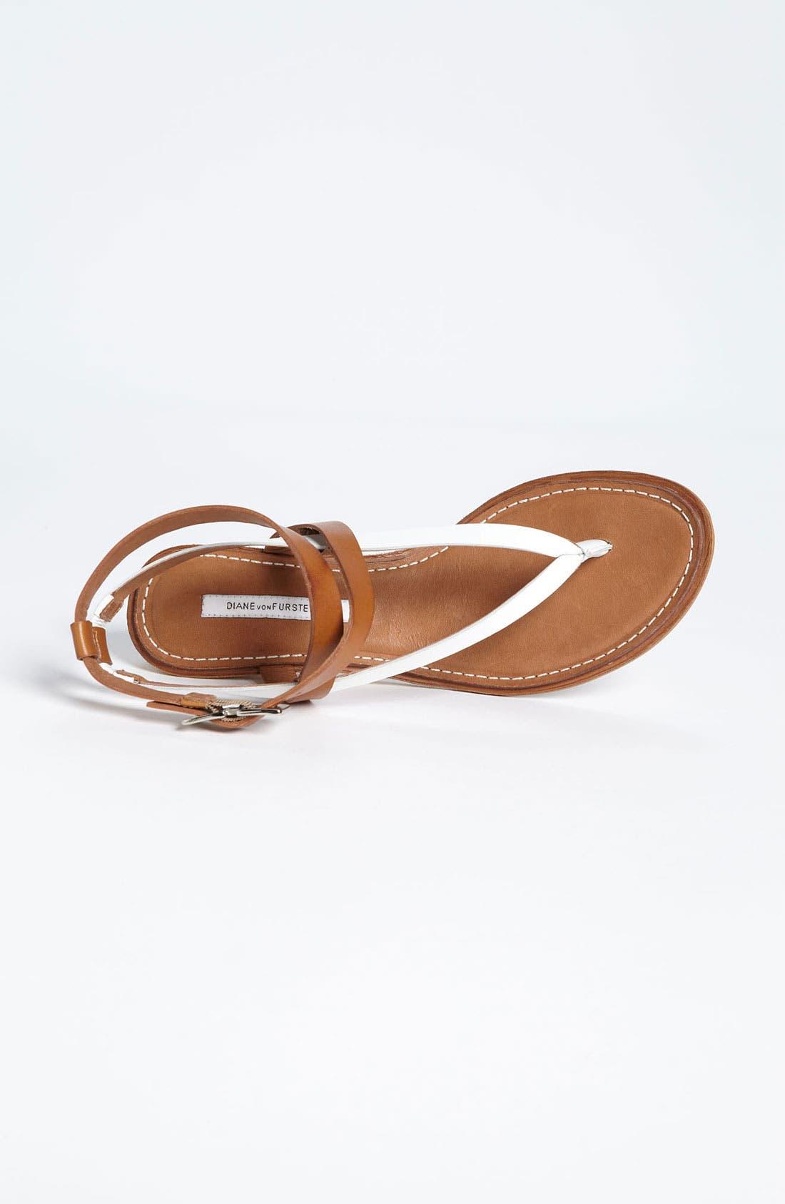 Alternate Image 3  - Diane von Furstenberg 'Dottie' Sandal (Online Only)
