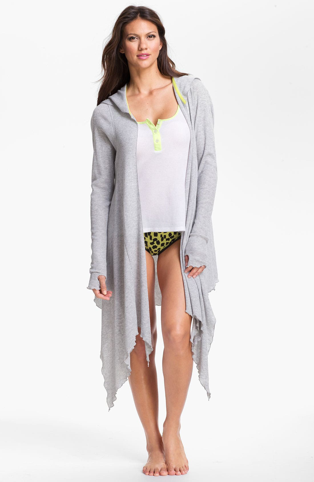 Main Image - Steve Madden 'Cozy Comfort' Thermal Knit Wrap