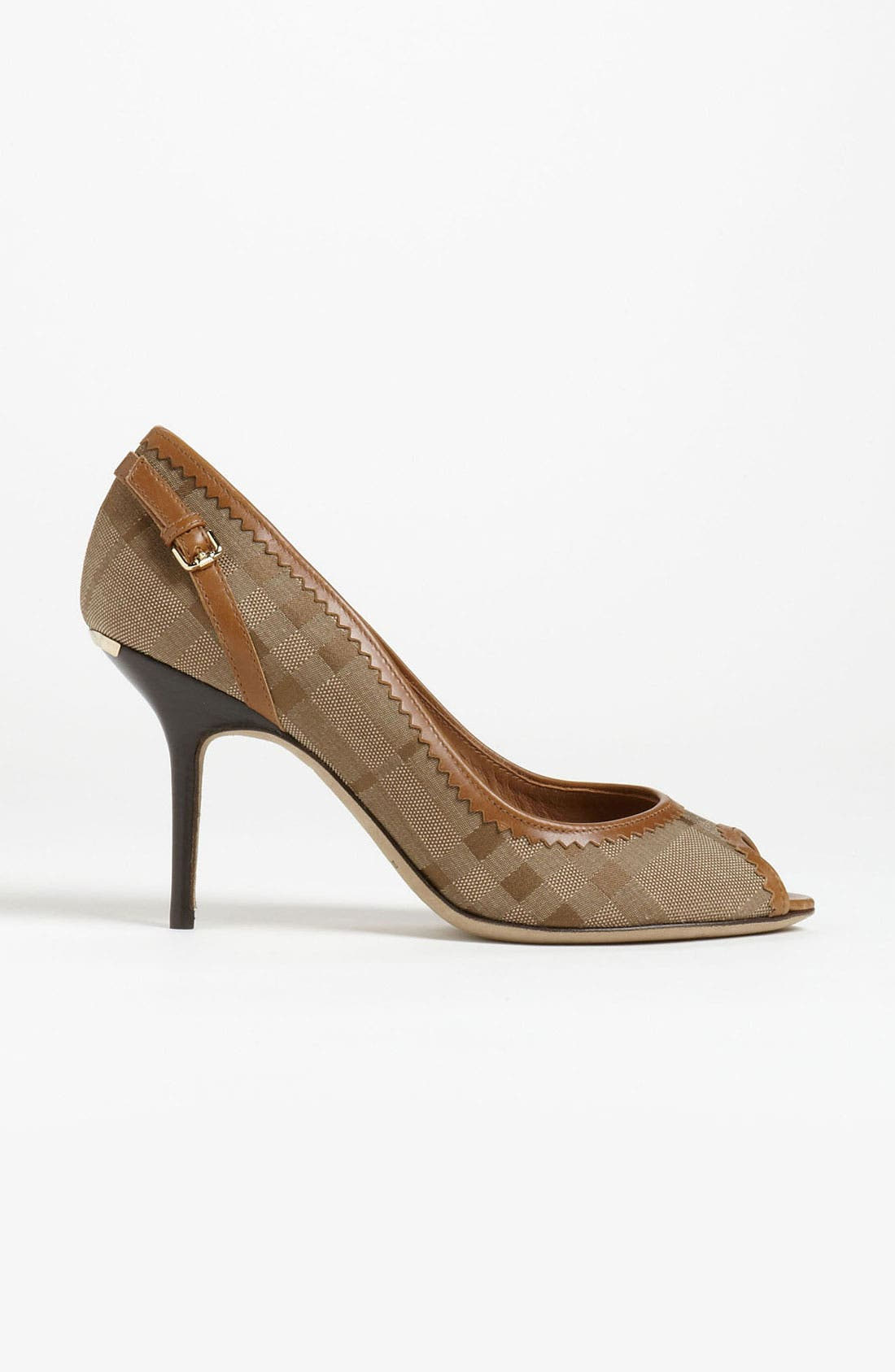 Alternate Image 4  - Burberry 'Allalline' Pump
