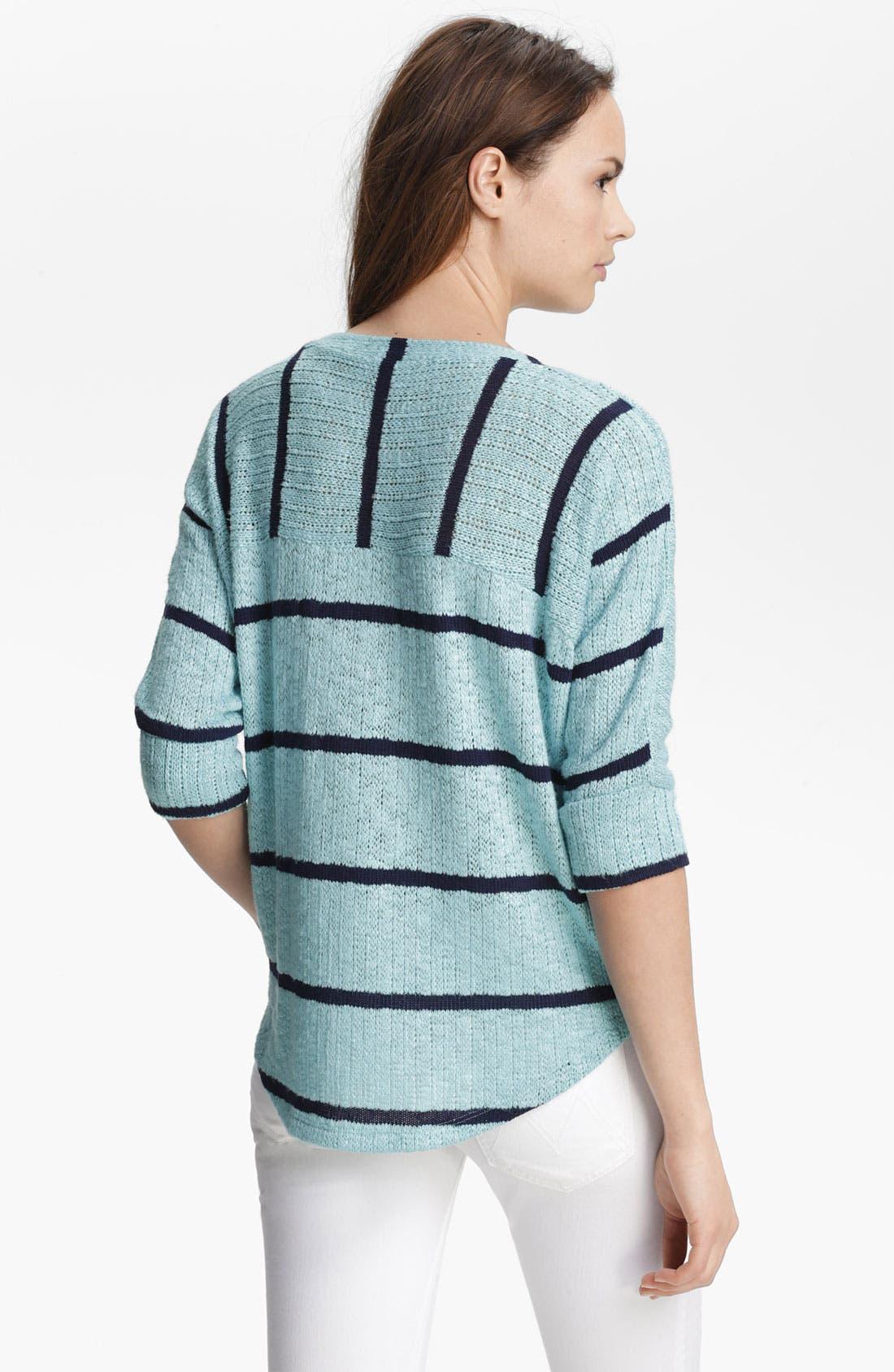 Alternate Image 2  - Splendid Stripe Dolman Sweater