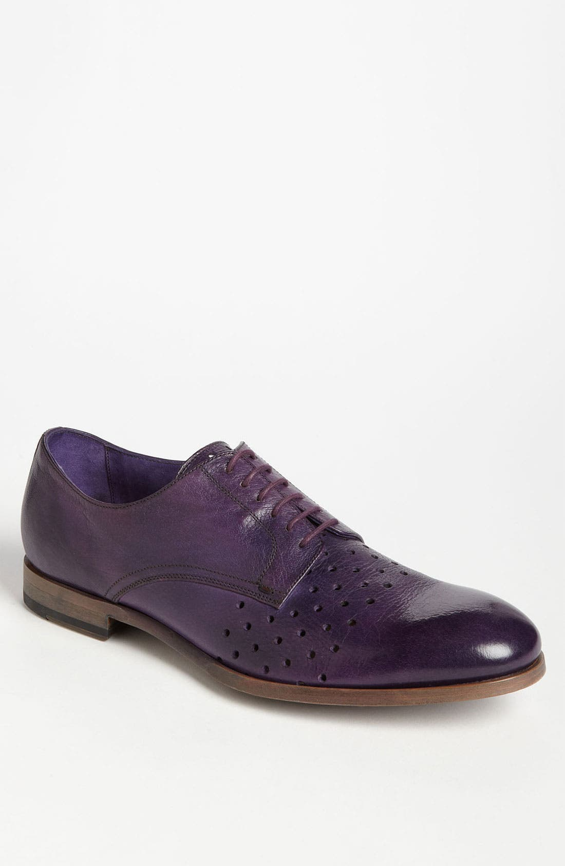 Main Image - Paul Smith 'Seagul' Perforated Derby
