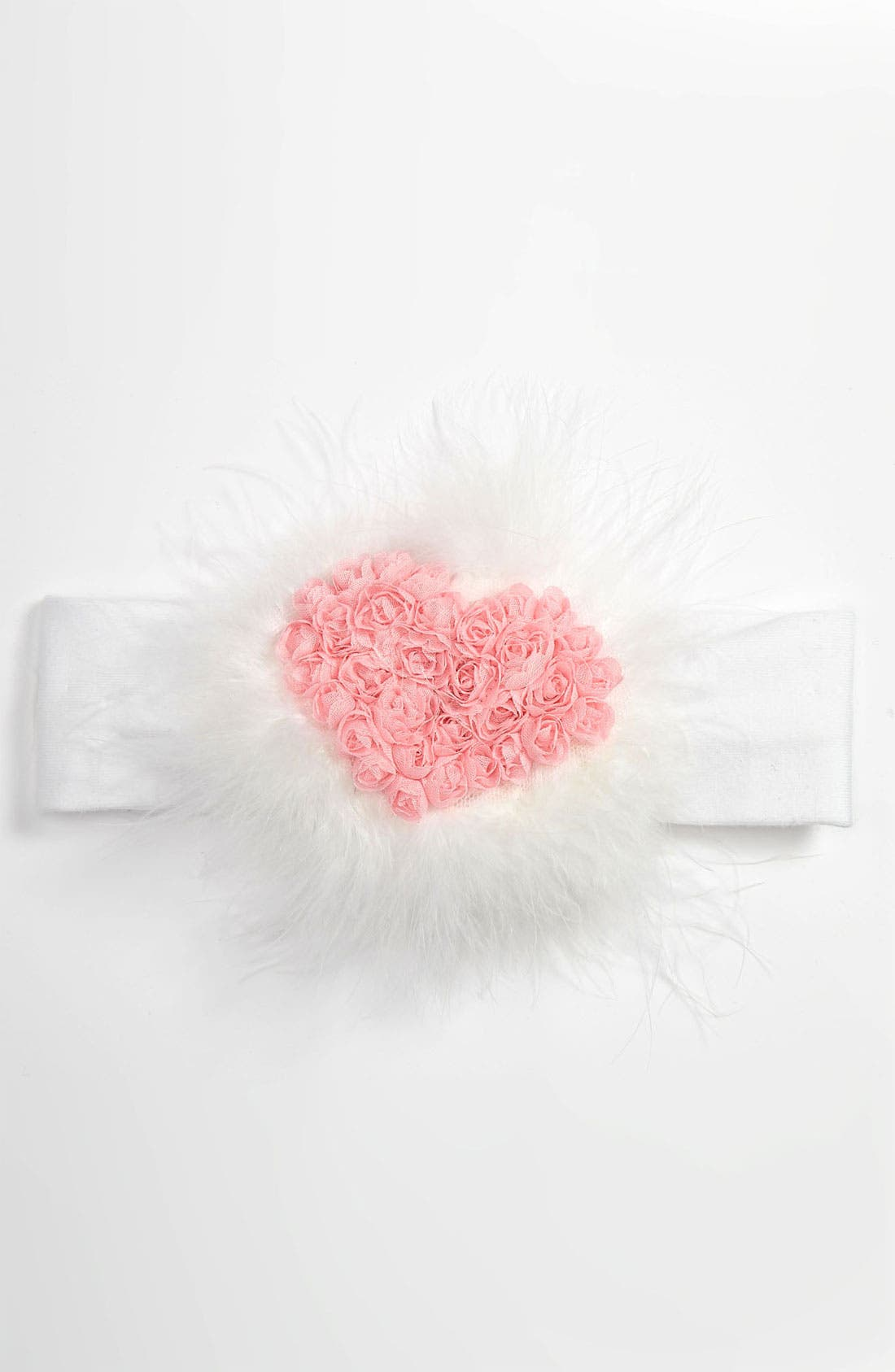 Alternate Image 1 Selected - PLH Bows & Laces Headband (Baby)