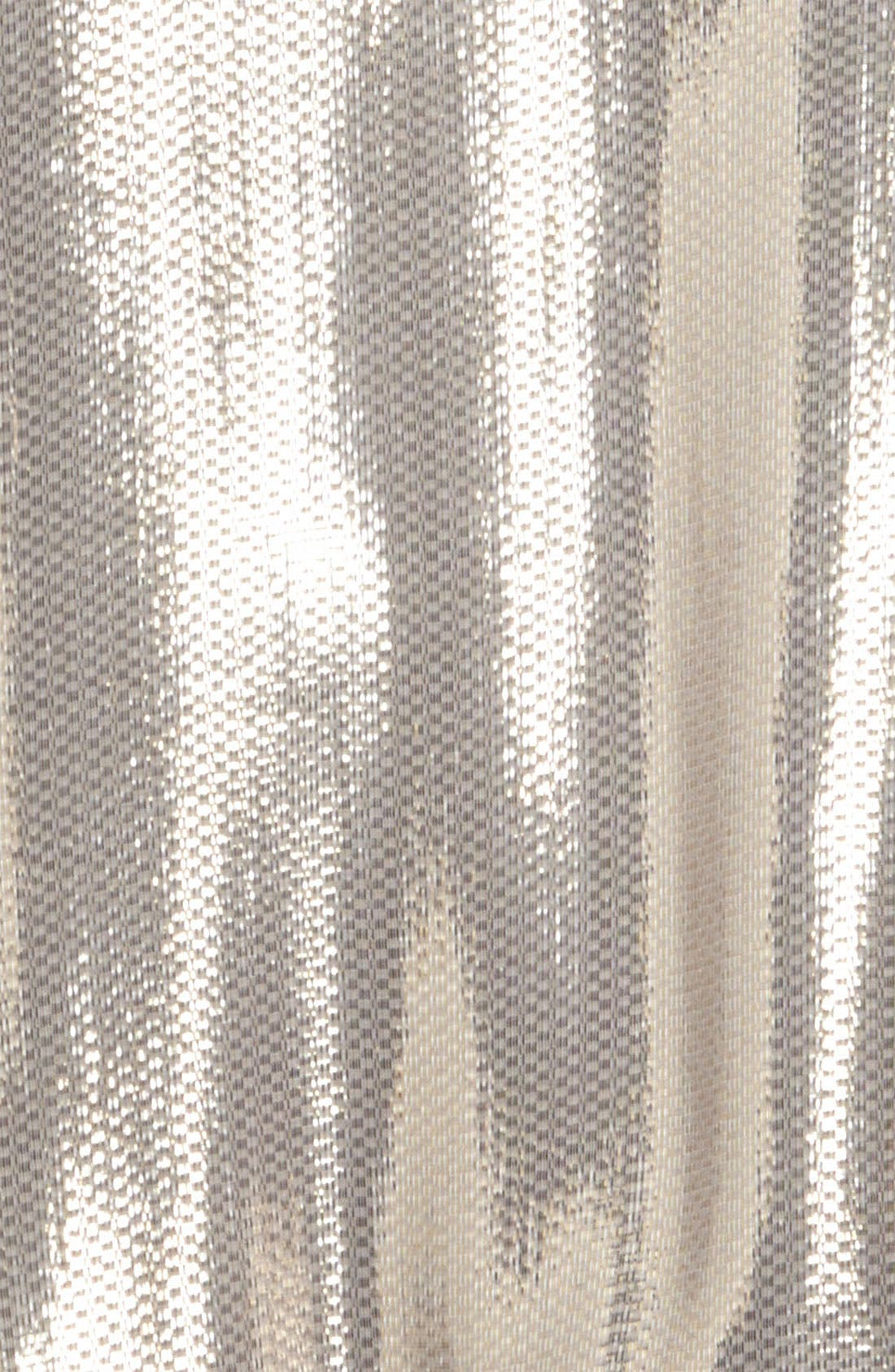 Alternate Image 4  - Mural Silky Metallic Foil Sweatshirt
