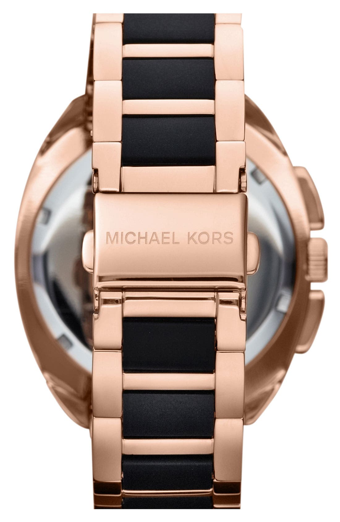 Alternate Image 3  - Michael Kors 'Tribeca' Chronograph Bracelet Watch, 43mm
