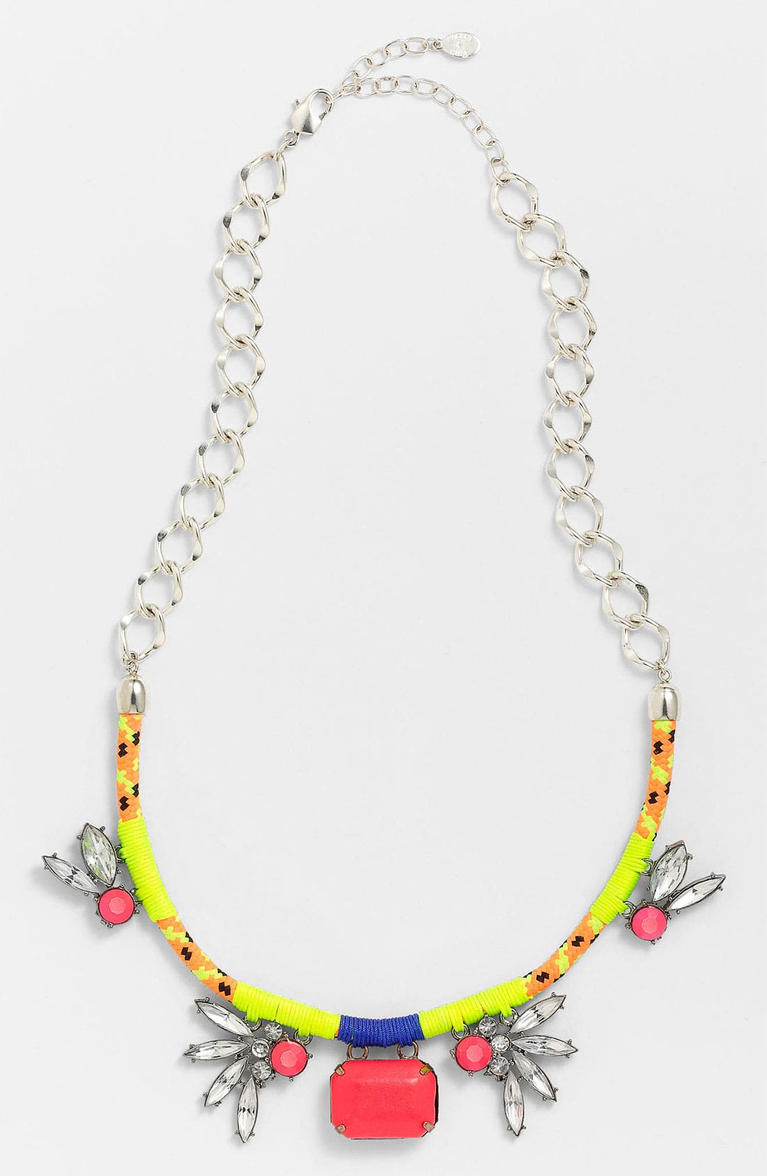 Main Image - Robert Rose 'Crystal Bungee' Cluster Pendant Necklace