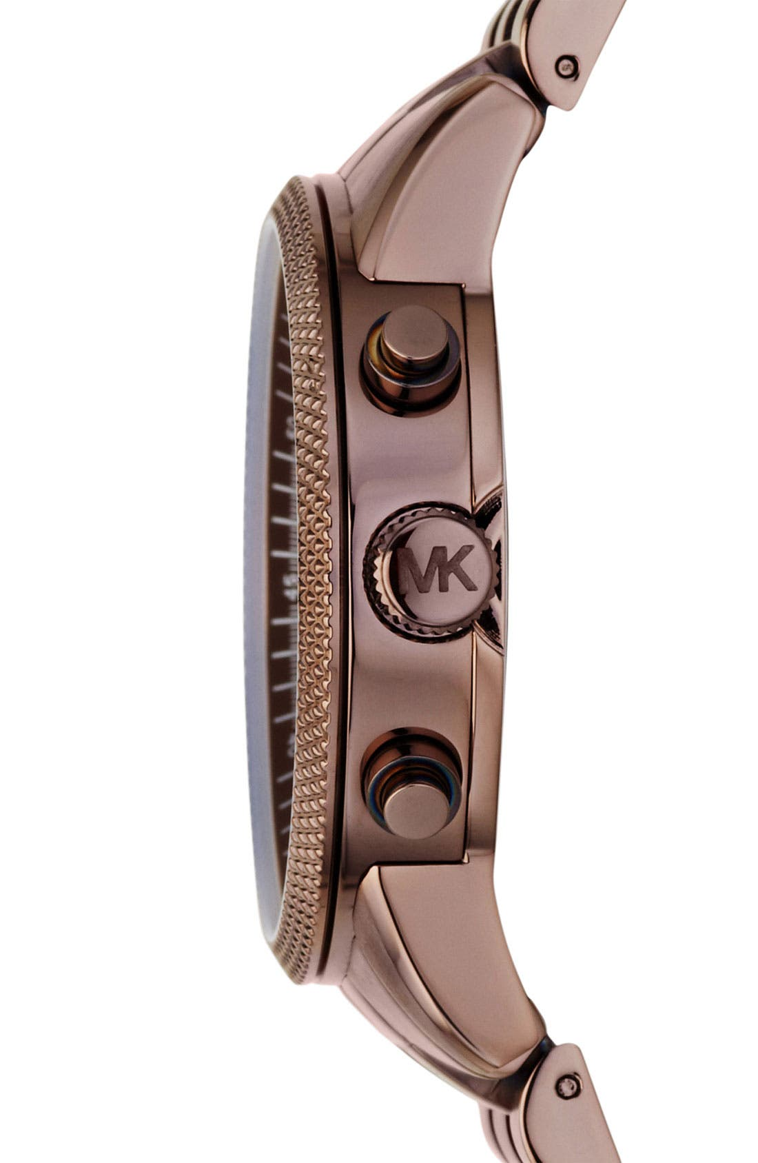 Alternate Image 3  - Michael Kors 'Scout' Knurled Topring Watch, 43mm