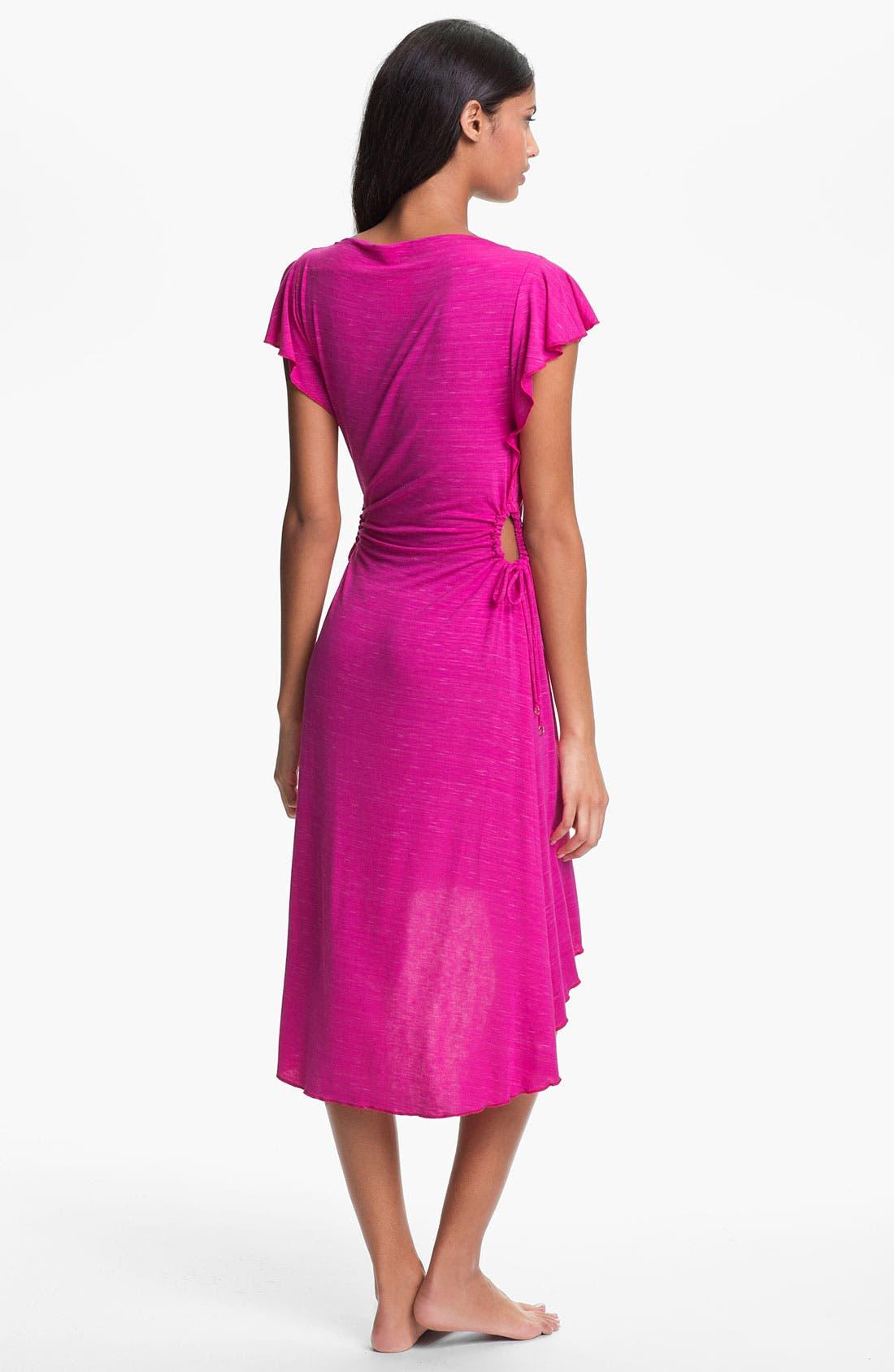 Alternate Image 2  - Betsey Johnson 'Fireworks' Dress Cover-Up