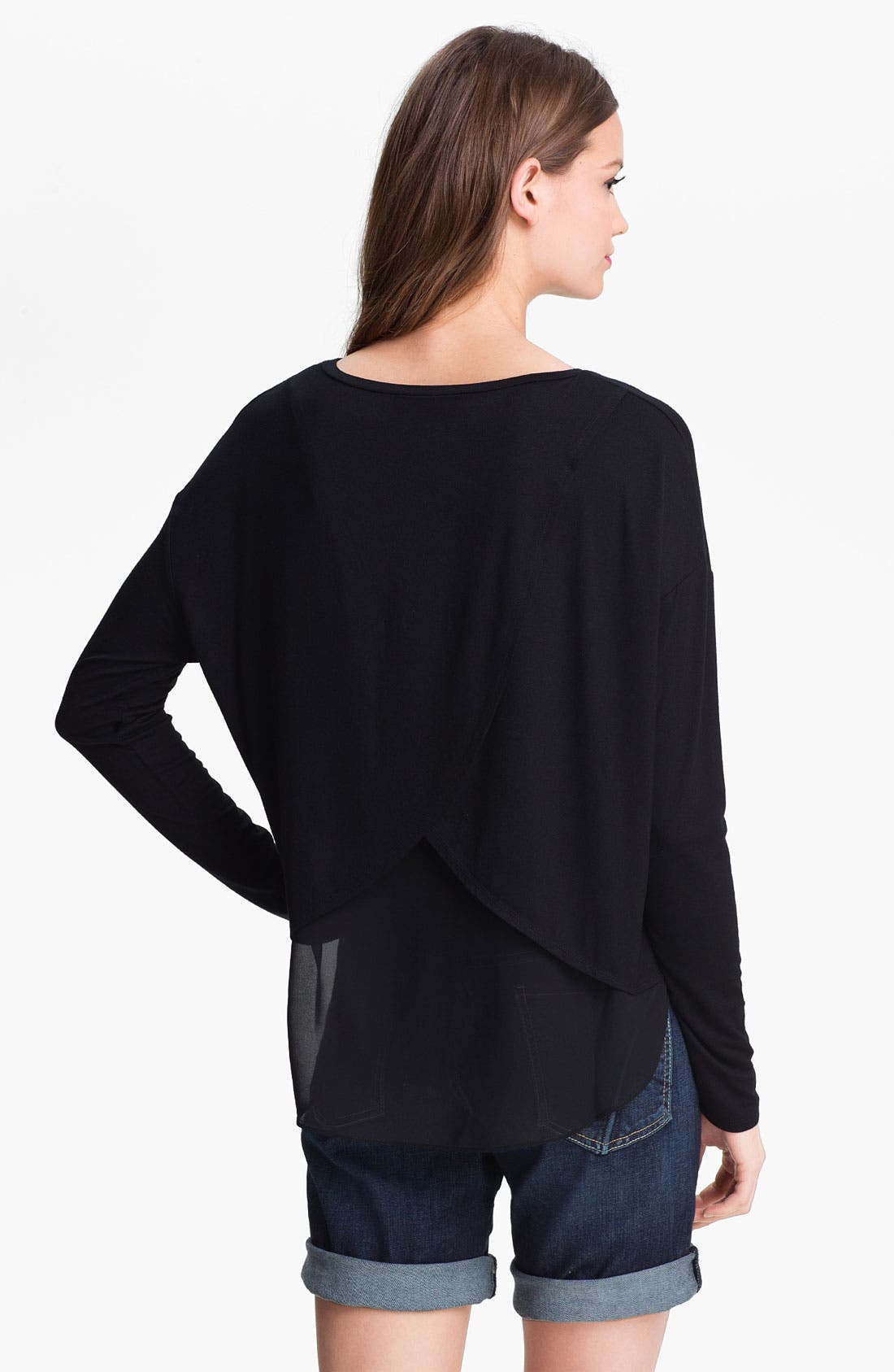 Alternate Image 1 Selected - Kenneth Cole New York 'Aubrey' Split Back Top