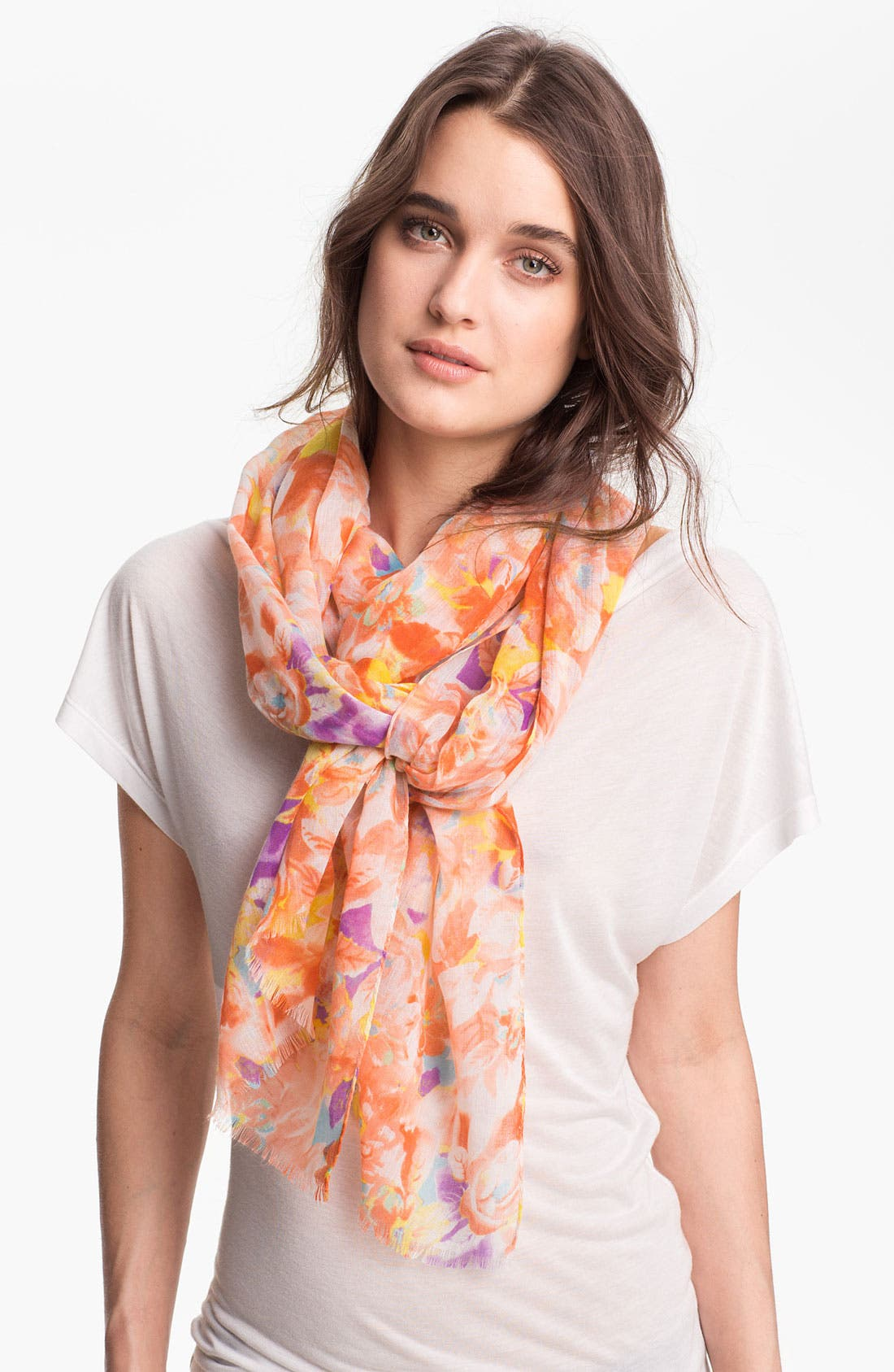 Main Image - Collection XIIX 'Water Blooms' Scarf