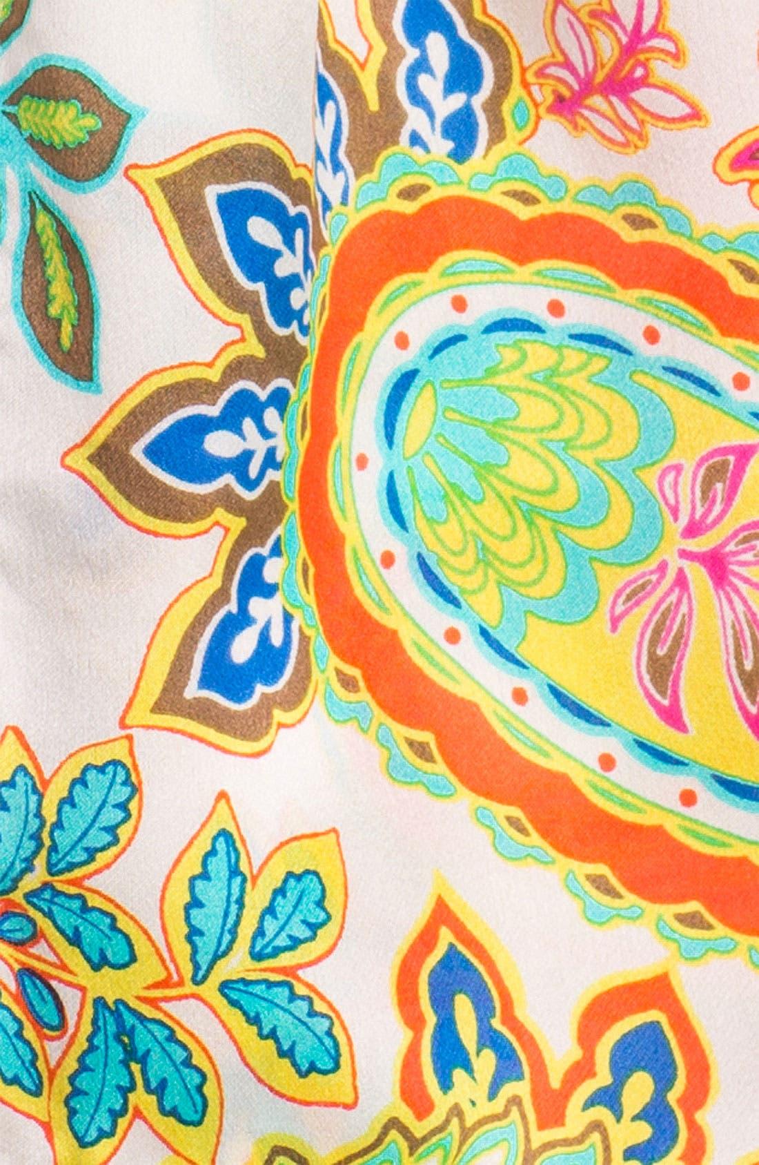 Alternate Image 2  - Echo 'Springtime Paisley' Silk Scarf