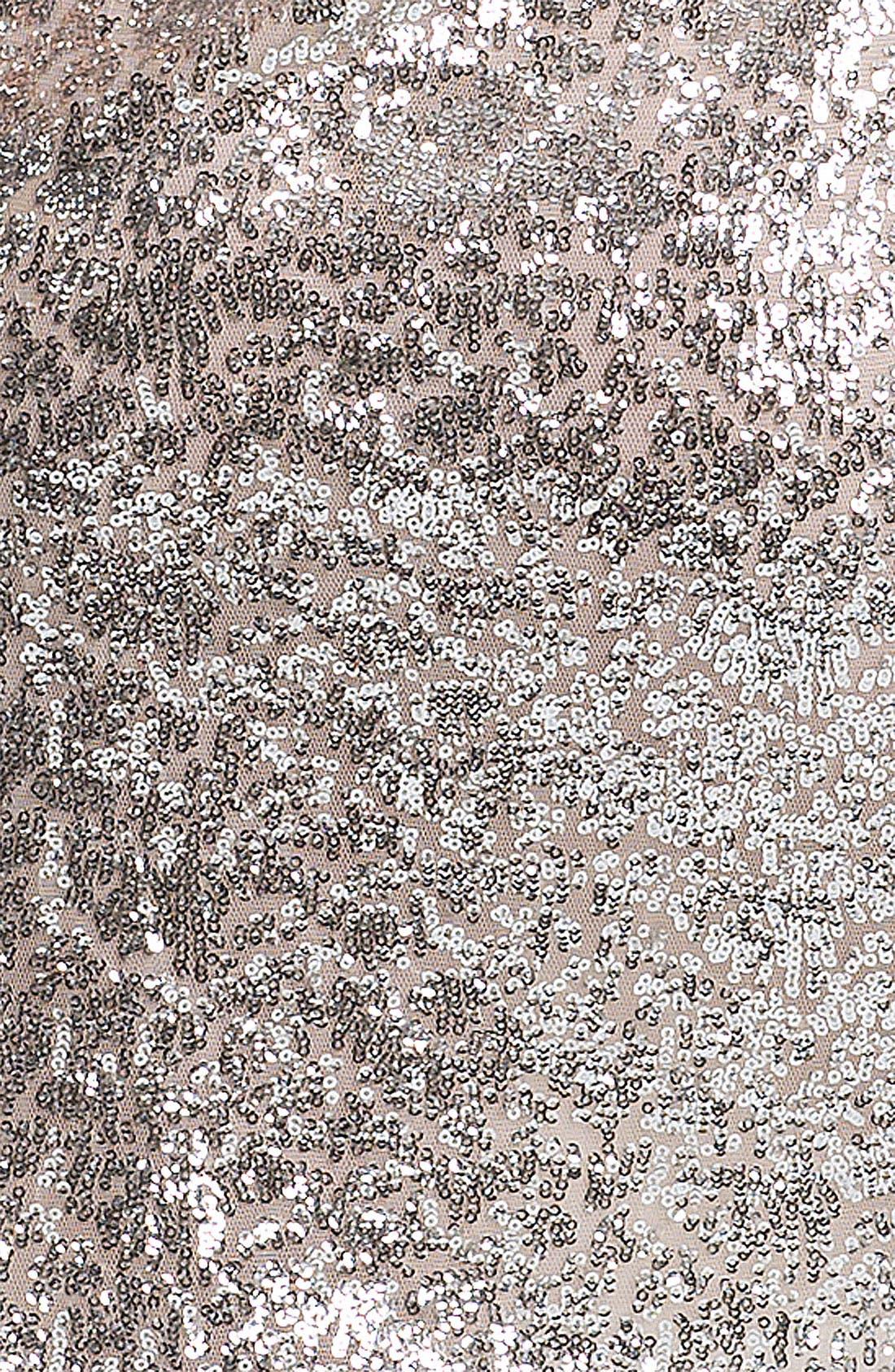 Alternate Image 3  - ERIN erin fetherston Sequin Mesh Dress