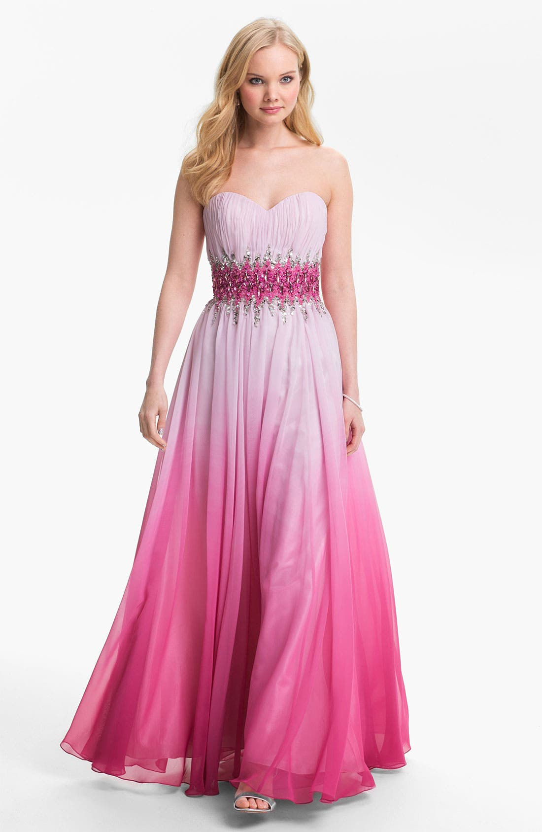 Alternate Image 1 Selected - Sean Collection Ball Gown & Accessories