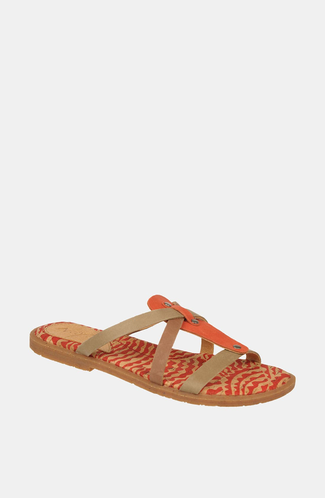 Alternate Image 1 Selected - Naya 'Painted Sock' Sandal