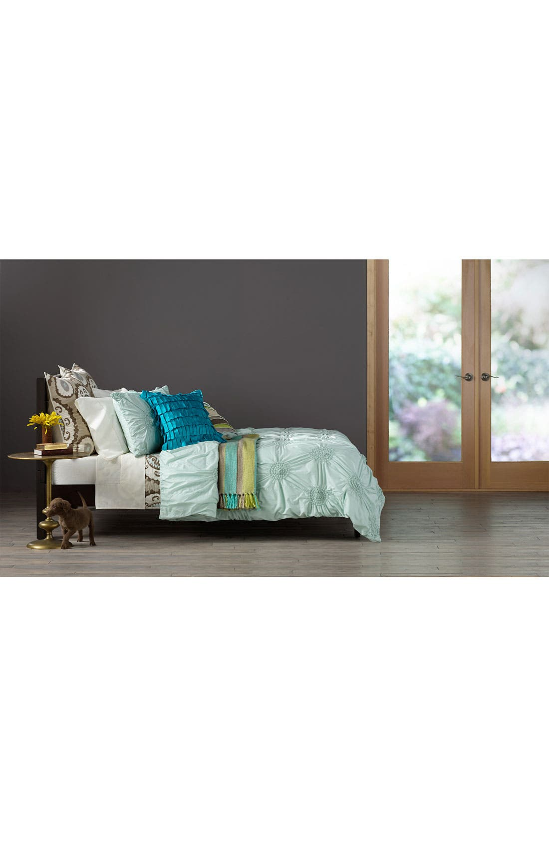 Alternate Image 2  - Nordstrom at Home Patchwork Stripe Pillow Cover