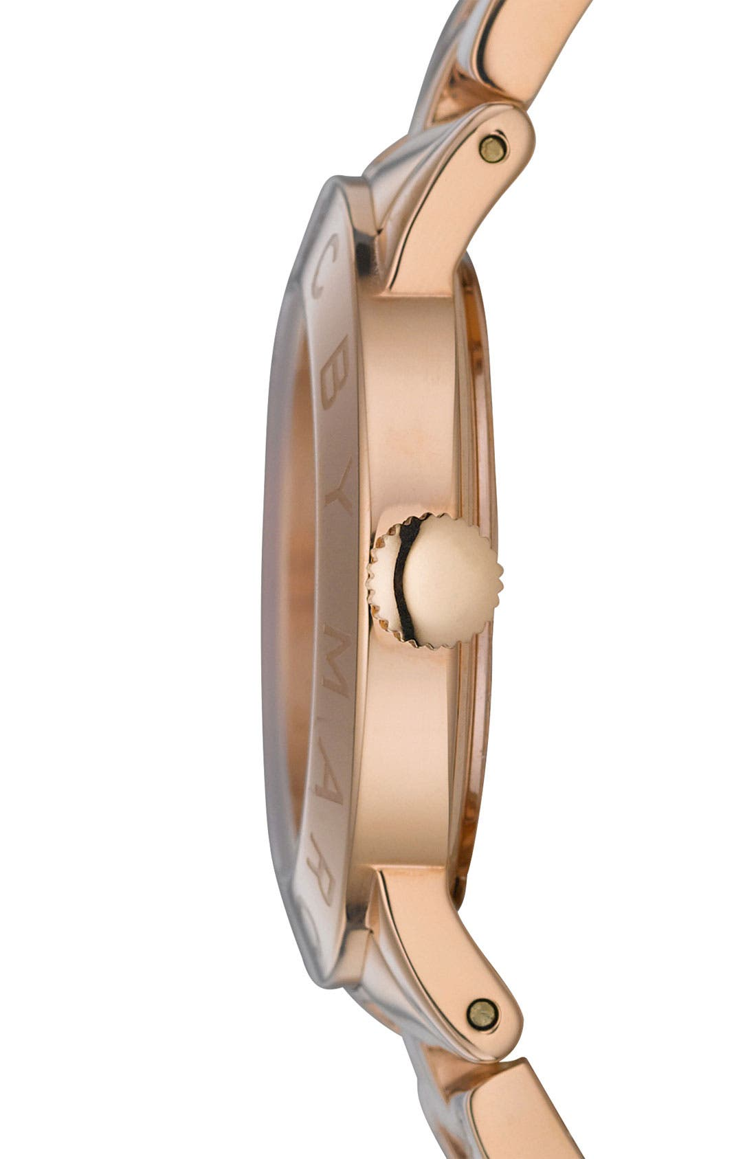 Alternate Image 3  - MARC JACOBS 'Amy' Crystal Bracelet Watch, 36mm