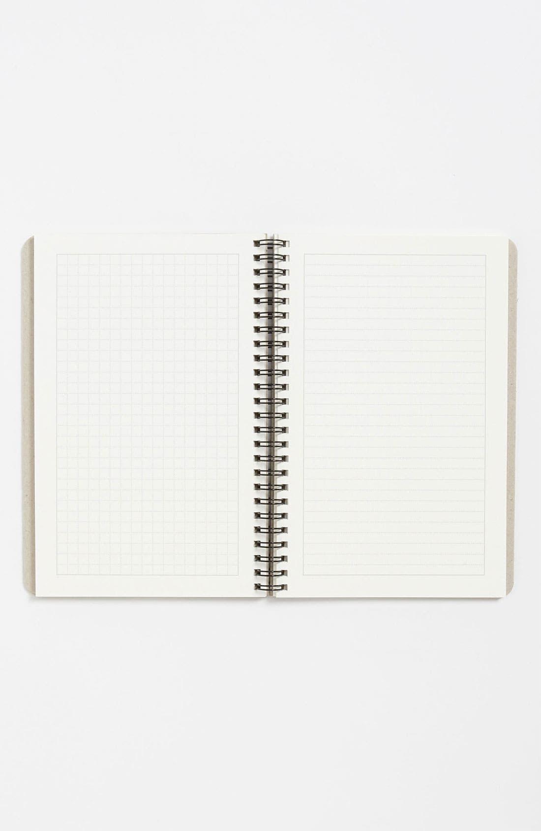 Alternate Image 2  - Spiral Bound Notebook